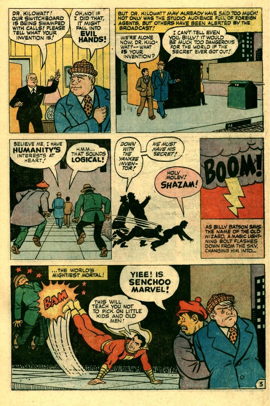 Read online Shazam! (1973) comic -  Issue #3 - 12
