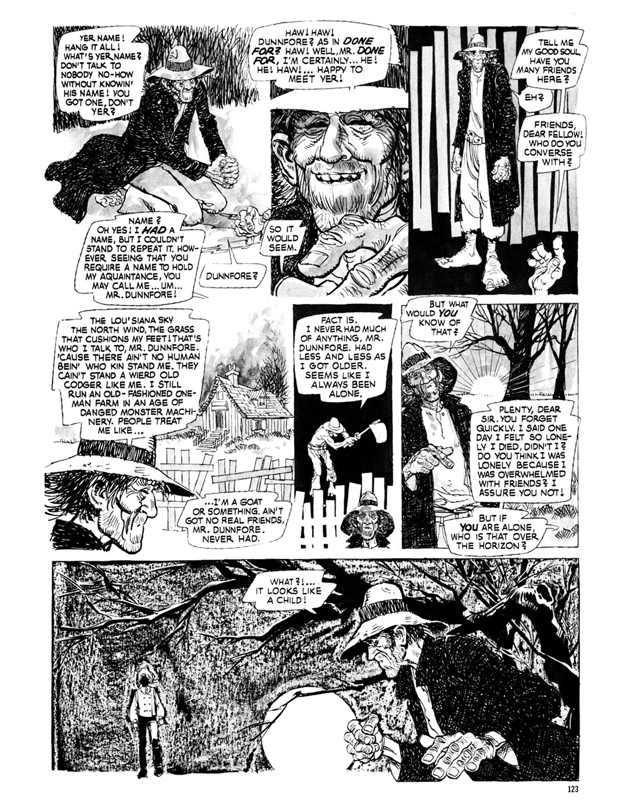 Read online Eerie Archives comic -  Issue # TPB 9 - 124