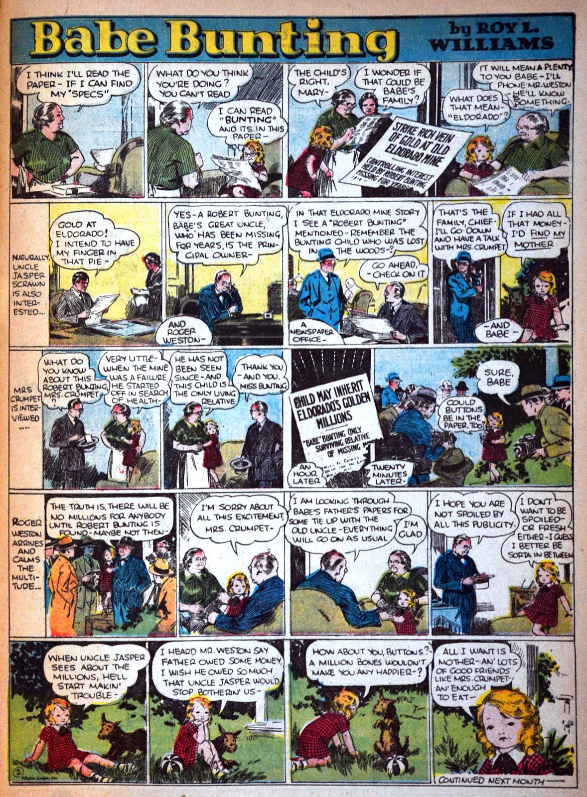 Read online Famous Funnies comic -  Issue #29 - 56