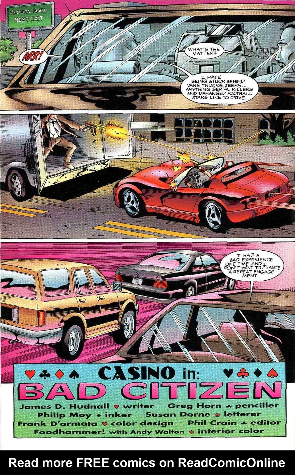 Read online Ultraverse Premiere comic -  Issue #10 - 12
