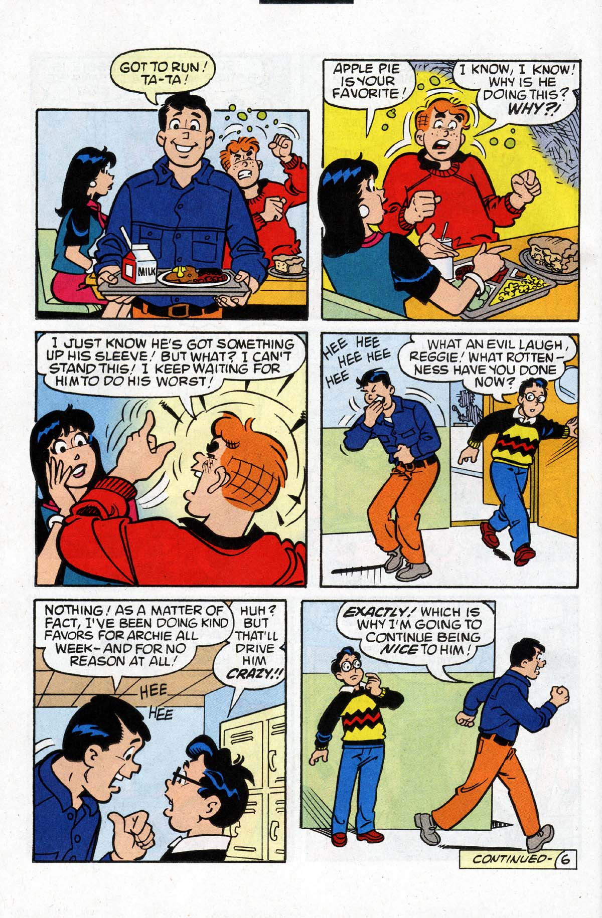 Read online Archie (1960) comic -  Issue #531 - 7