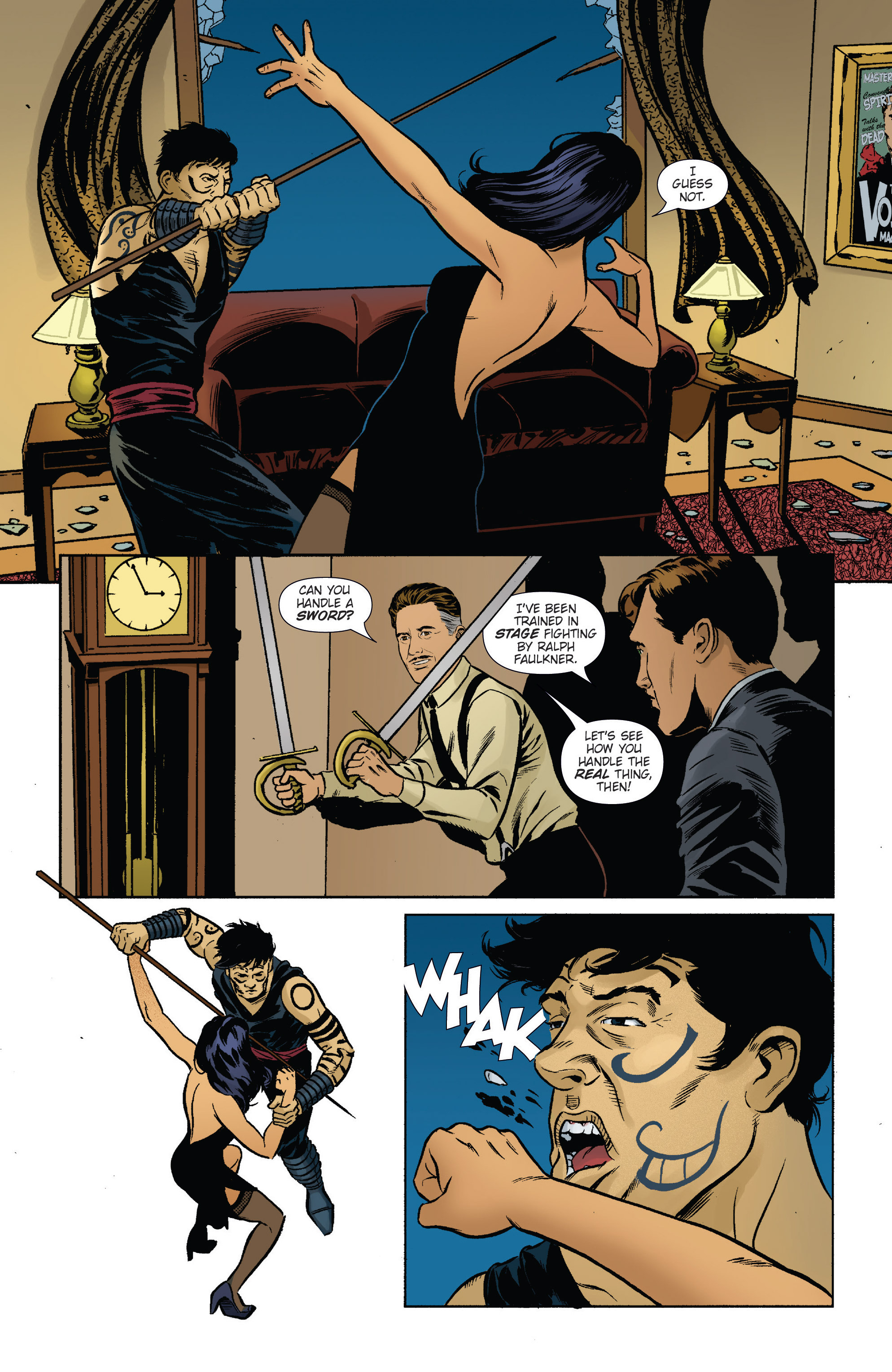 Read online Athena Voltaire and the Volcano Goddess comic -  Issue #2 - 4