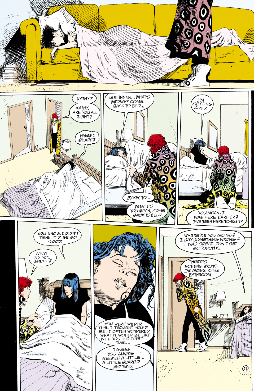 Read online Shade, the Changing Man comic -  Issue #12 - 12