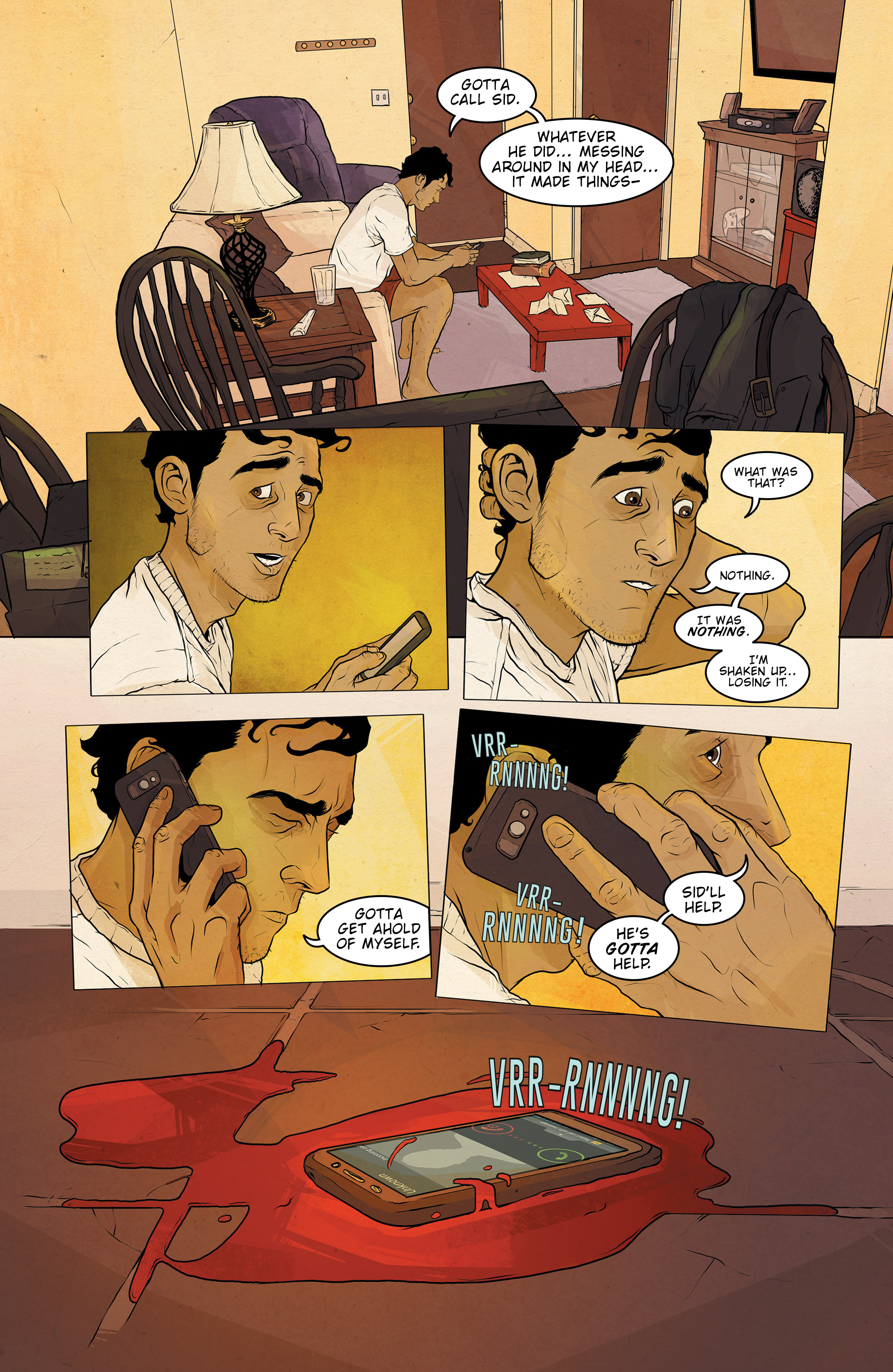 Read online Regression comic -  Issue #2 - 5