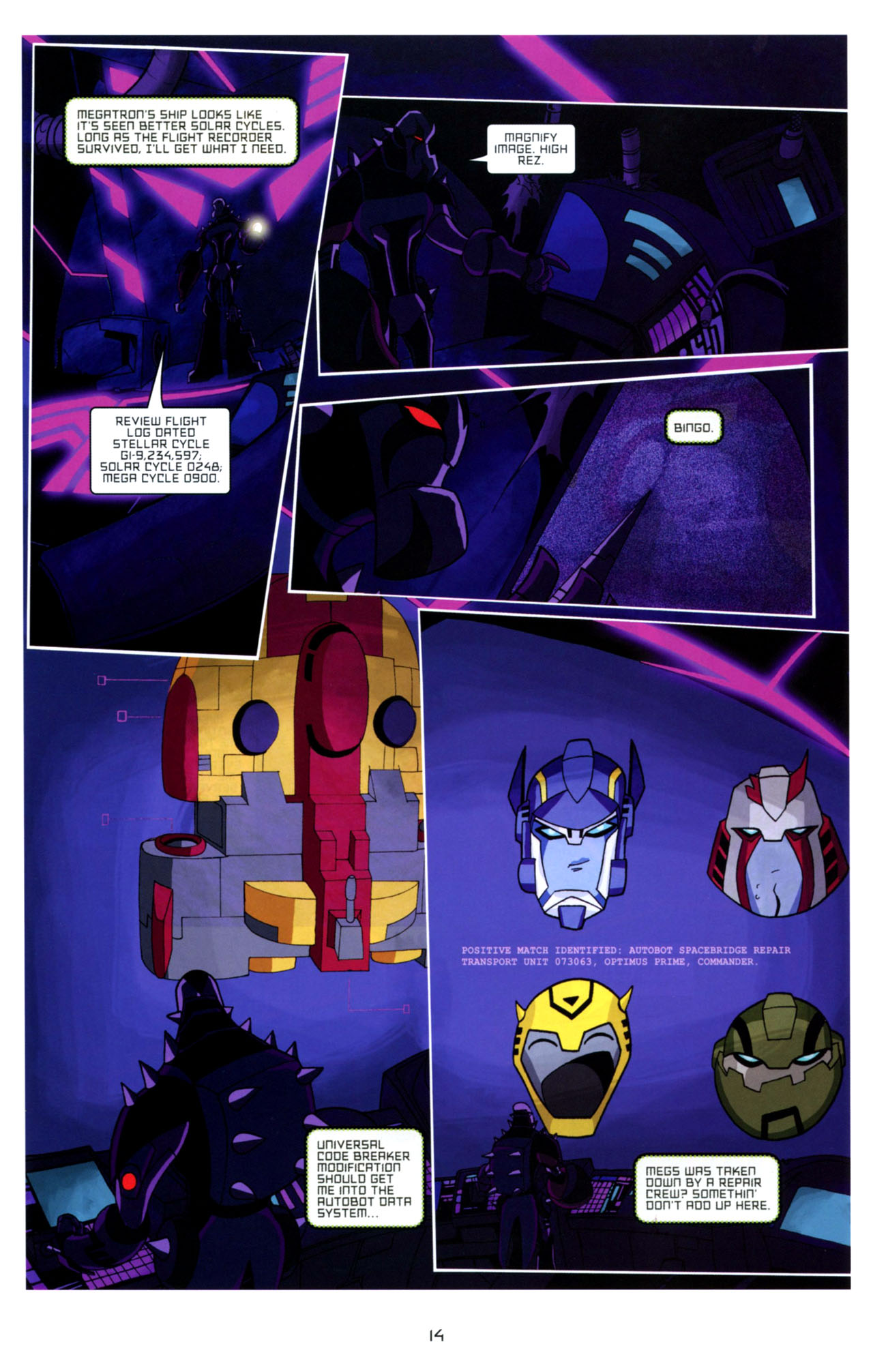 Read online Transformers Animated: The Arrival comic -  Issue #4 - 17