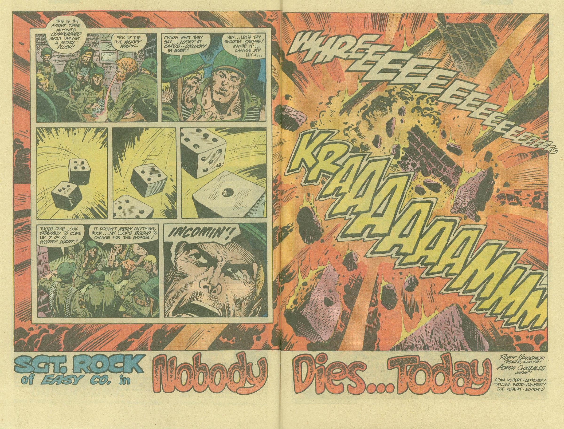 Read online Sgt. Rock comic -  Issue #394 - 4