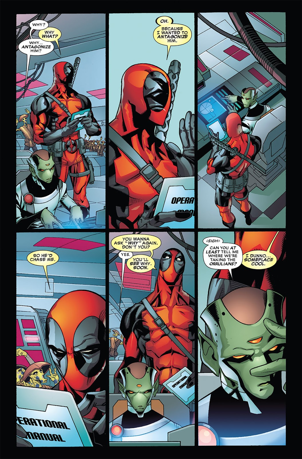 Read online Deadpool (2008) comic -  Issue #34 - 17