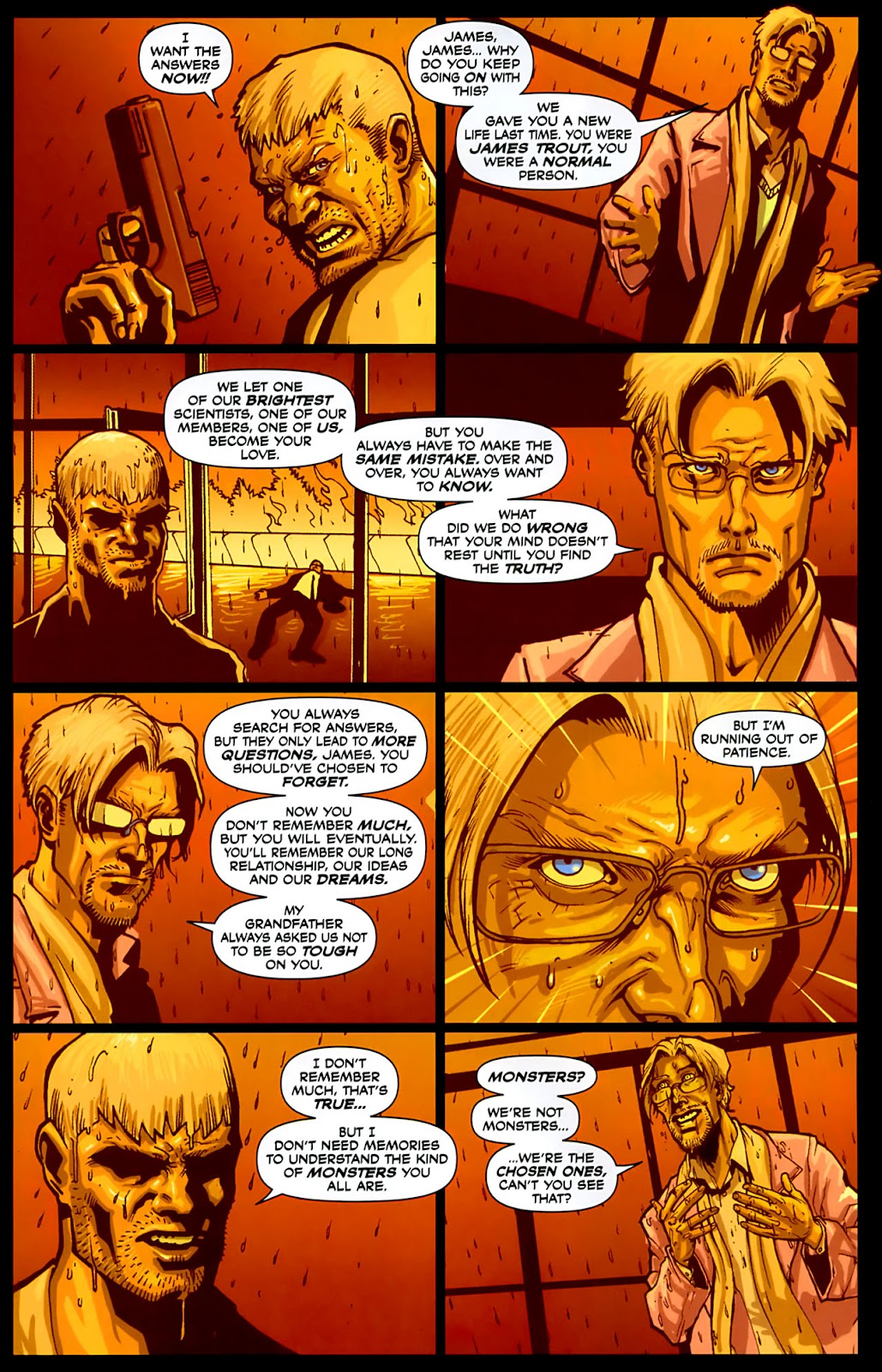 Read online Lazarus (2007) comic -  Issue #3 - 18