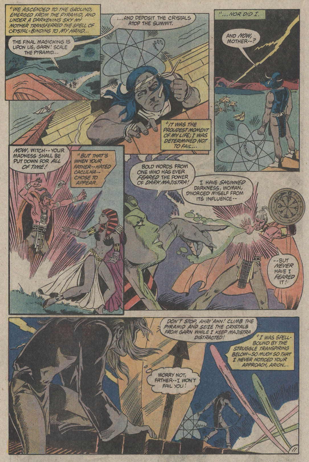 Read online Arion, Lord of Atlantis comic -  Issue #4 - 11