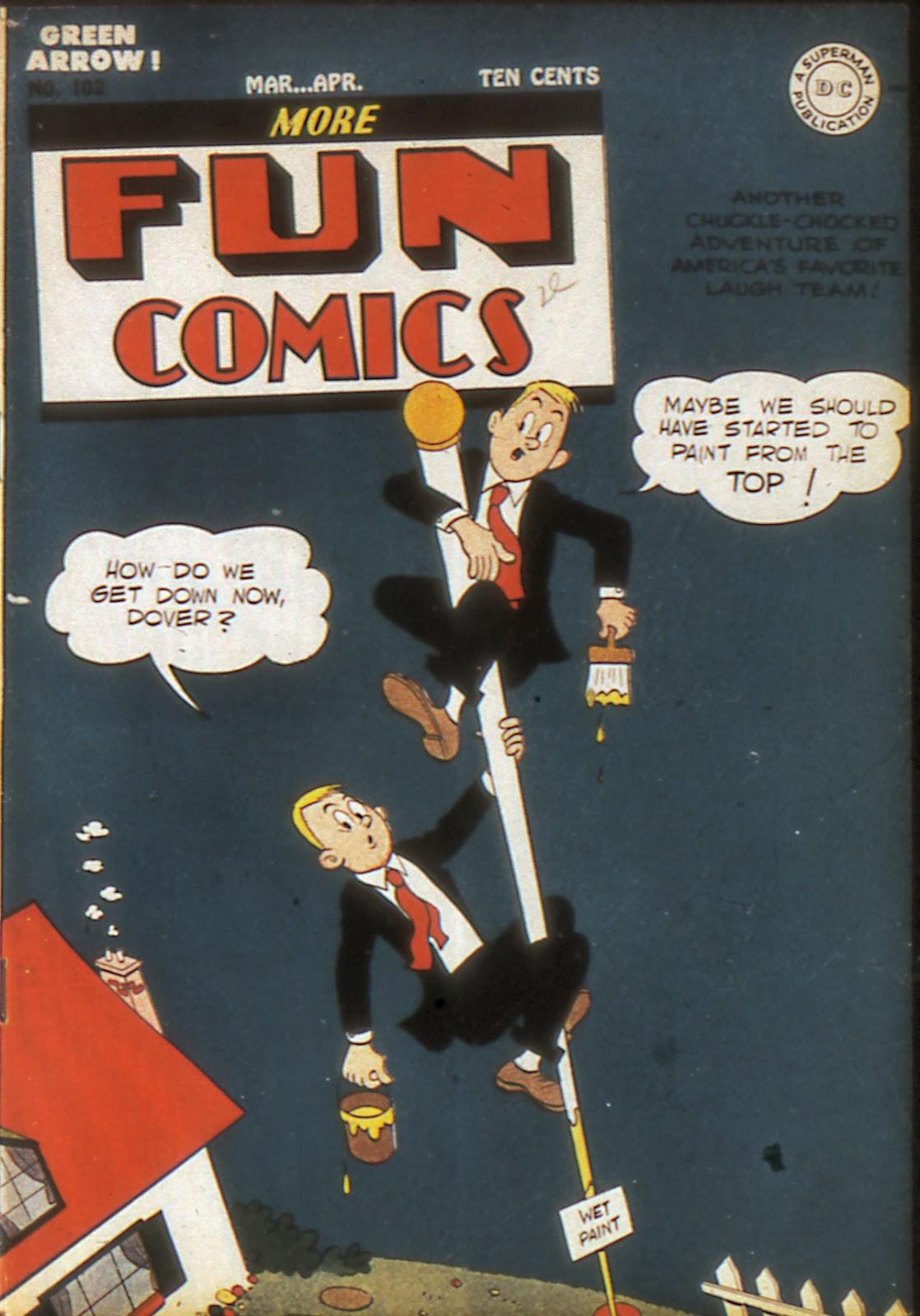 More Fun Comics 102 Page 1