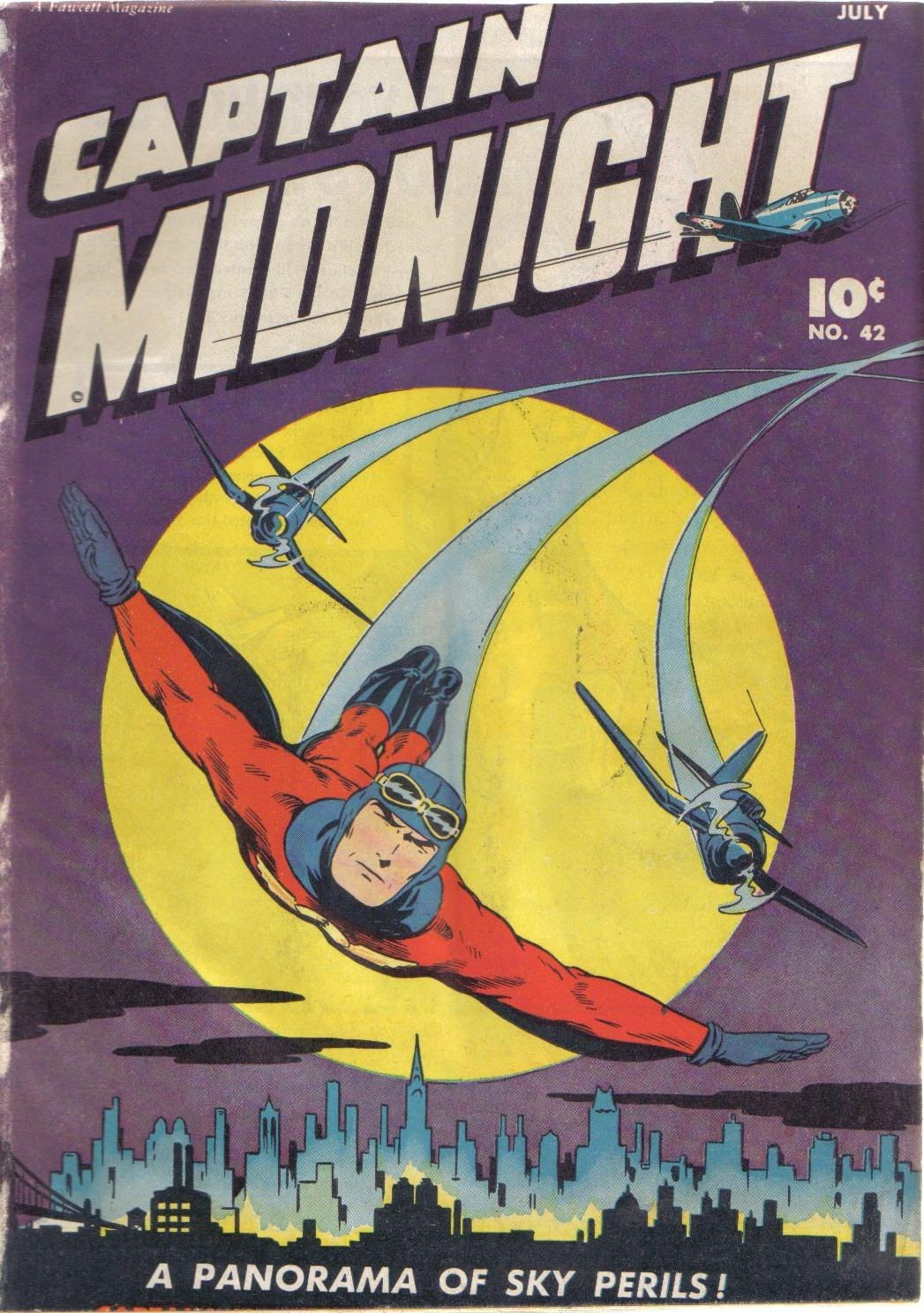 Captain Midnight (1942) 42 Page 1