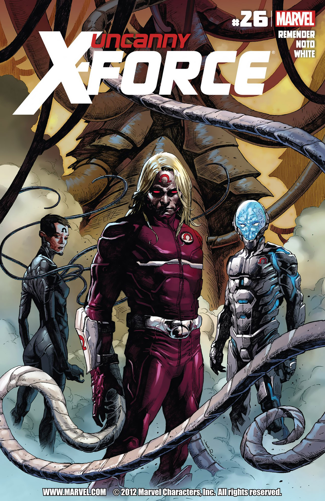 Read online Uncanny X-Force (2010) comic -  Issue #26 - 1