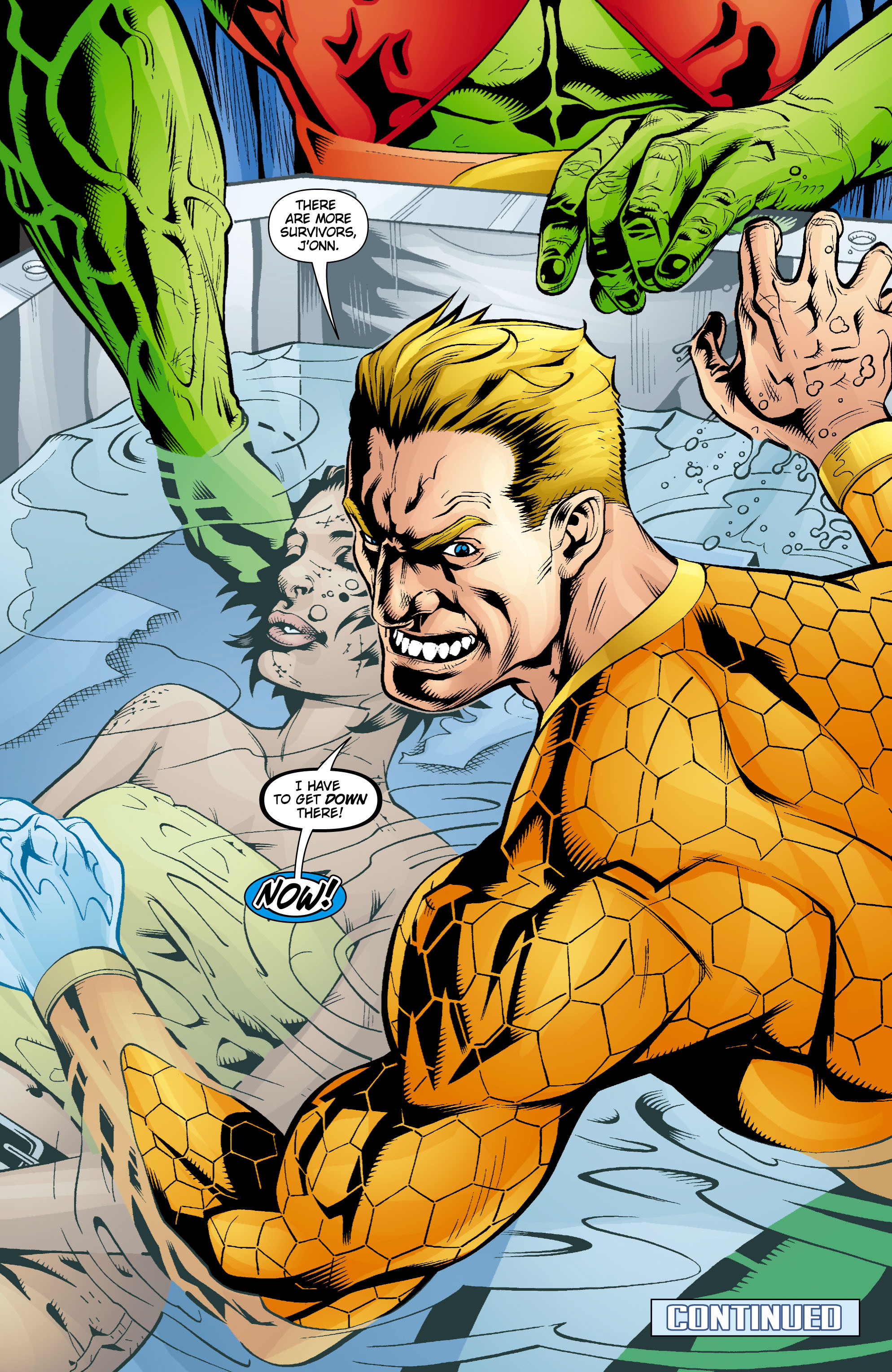 Read online Aquaman (2003) comic -  Issue #16 - 23