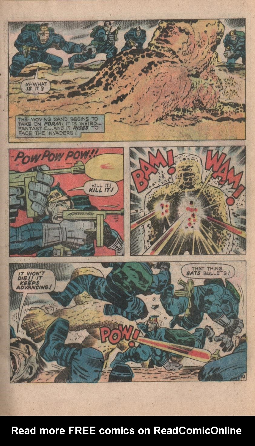 Kamandi, The Last Boy On Earth issue 32 - Page 21