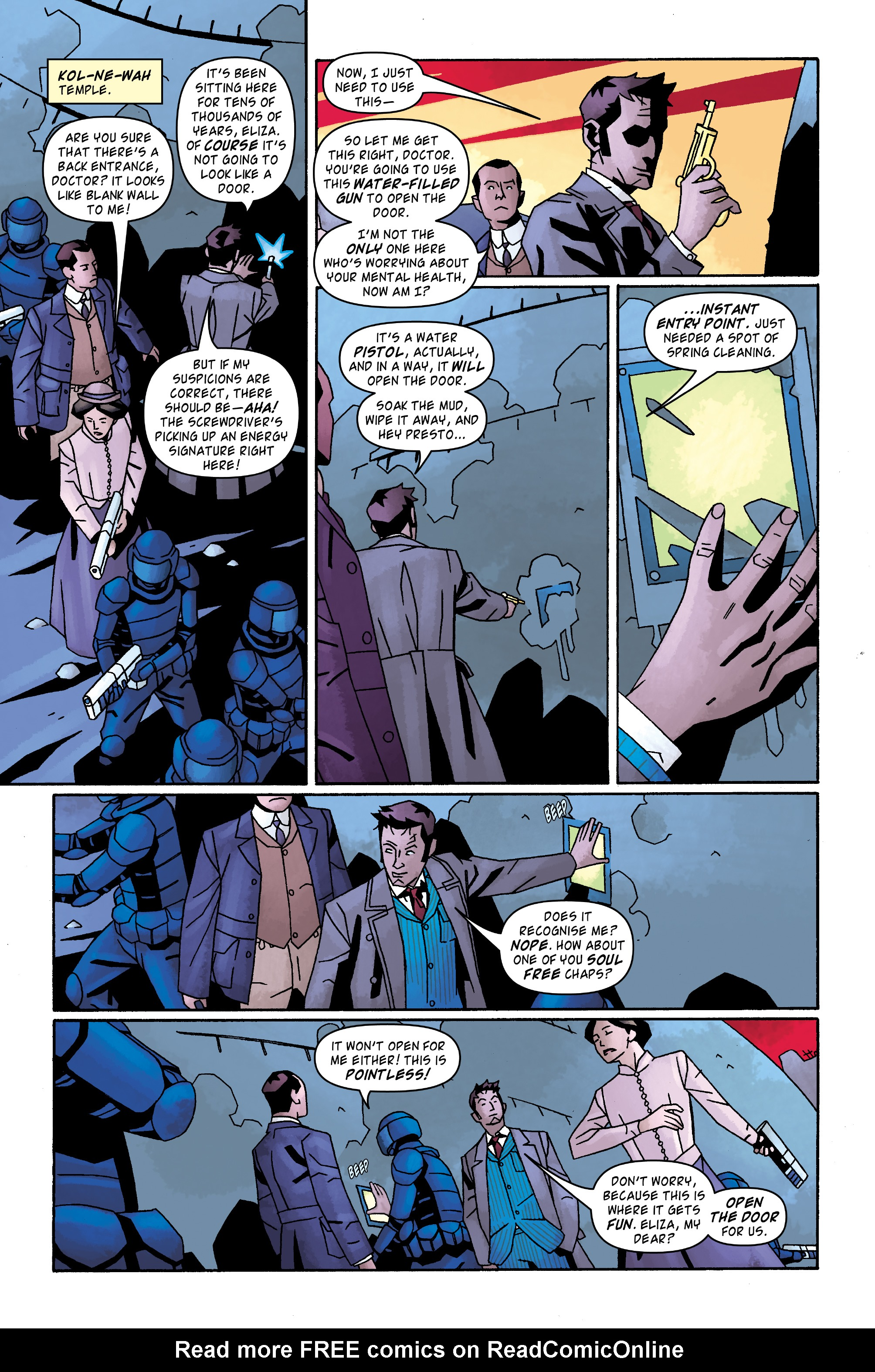 Read online Doctor Who: The Tenth Doctor Archives comic -  Issue #32 - 10