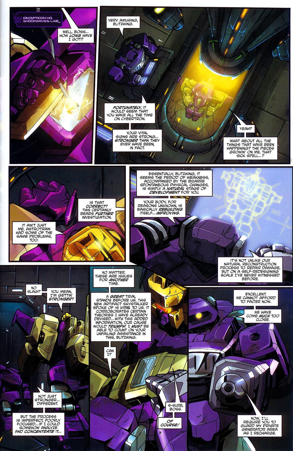 Read online Transformers: Micromasters comic -  Issue #3 - 19