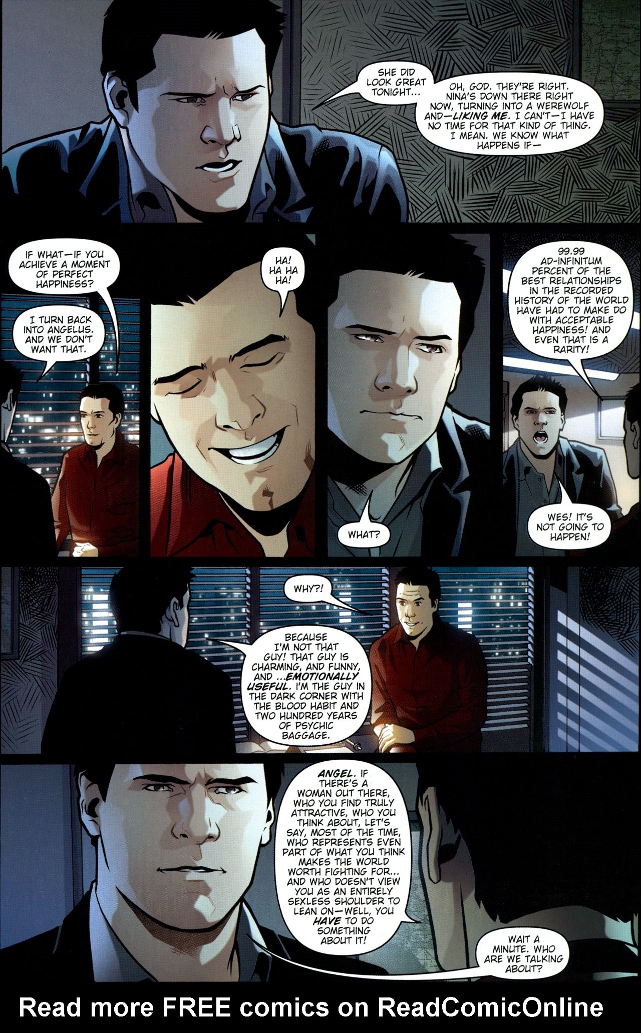Read online Angel: Smile Time comic -  Issue #1 - 12