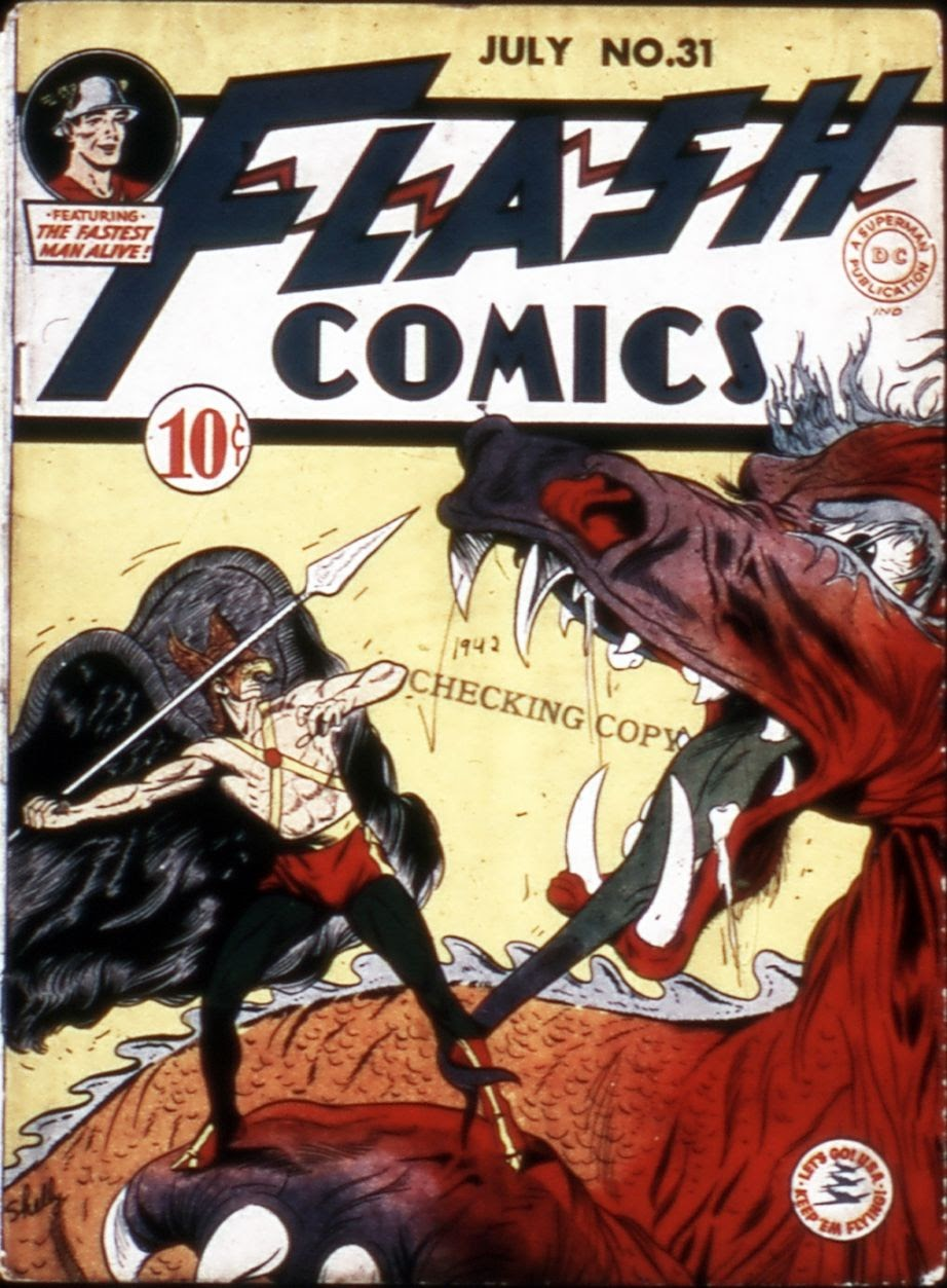 Flash Comics 31 Page 1