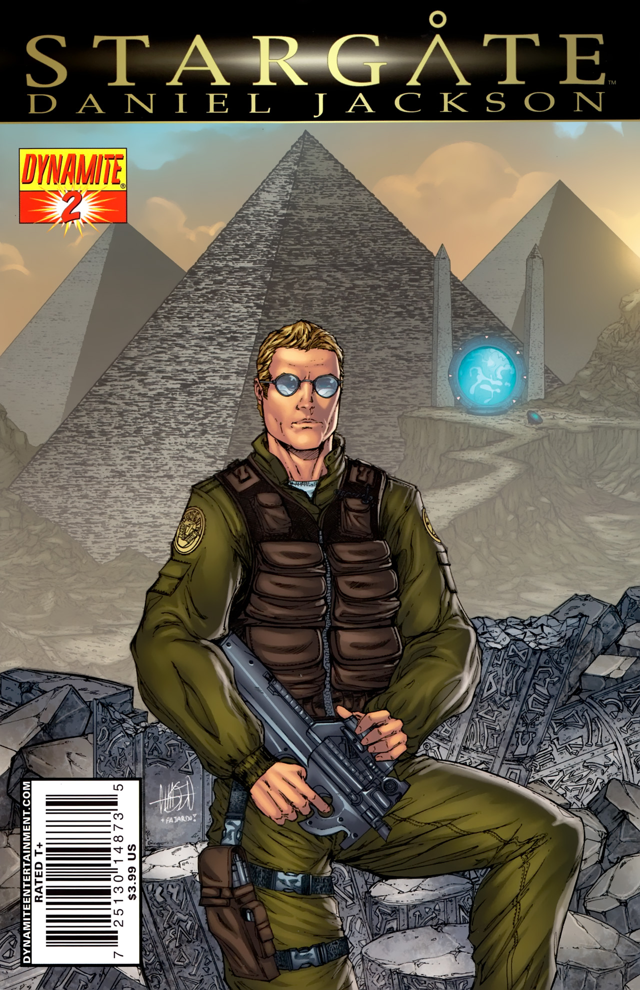 Read online Stargate: Daniel Jackson comic -  Issue #2 - 1