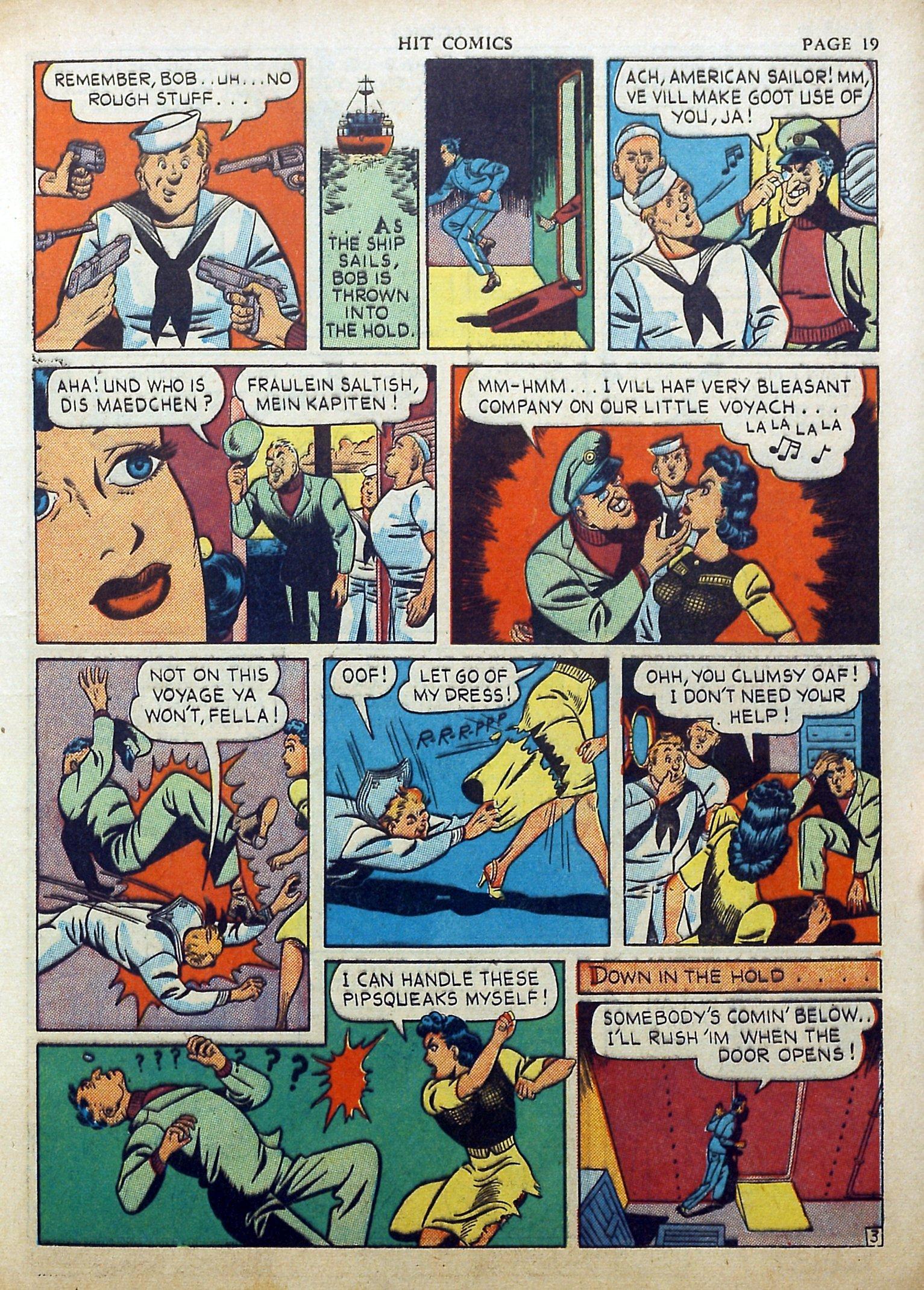 Read online Hit Comics comic -  Issue #17 - 21