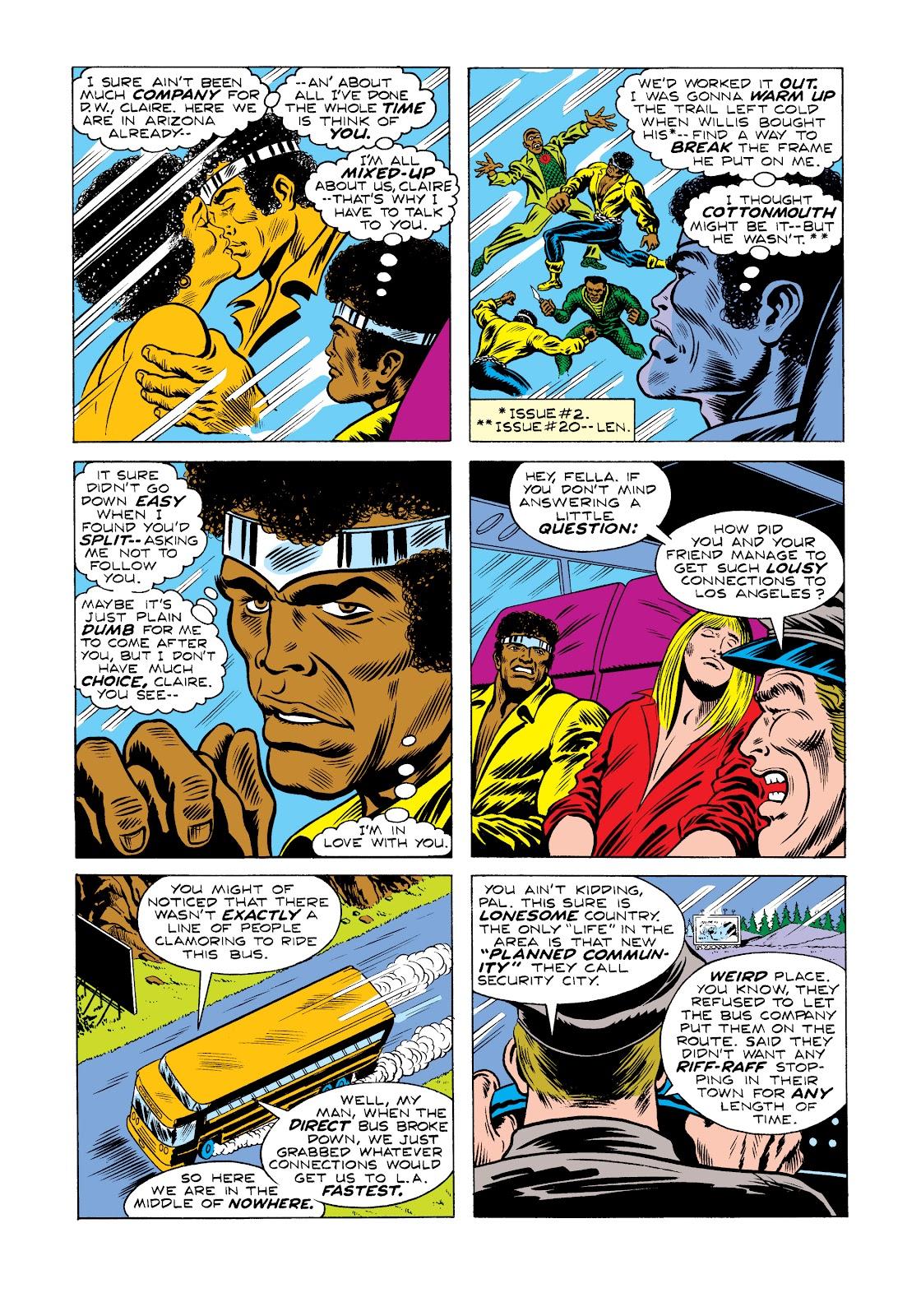 Read online Marvel Masterworks: Luke Cage, Power Man comic -  Issue # TPB 2 (Part 2) - 27