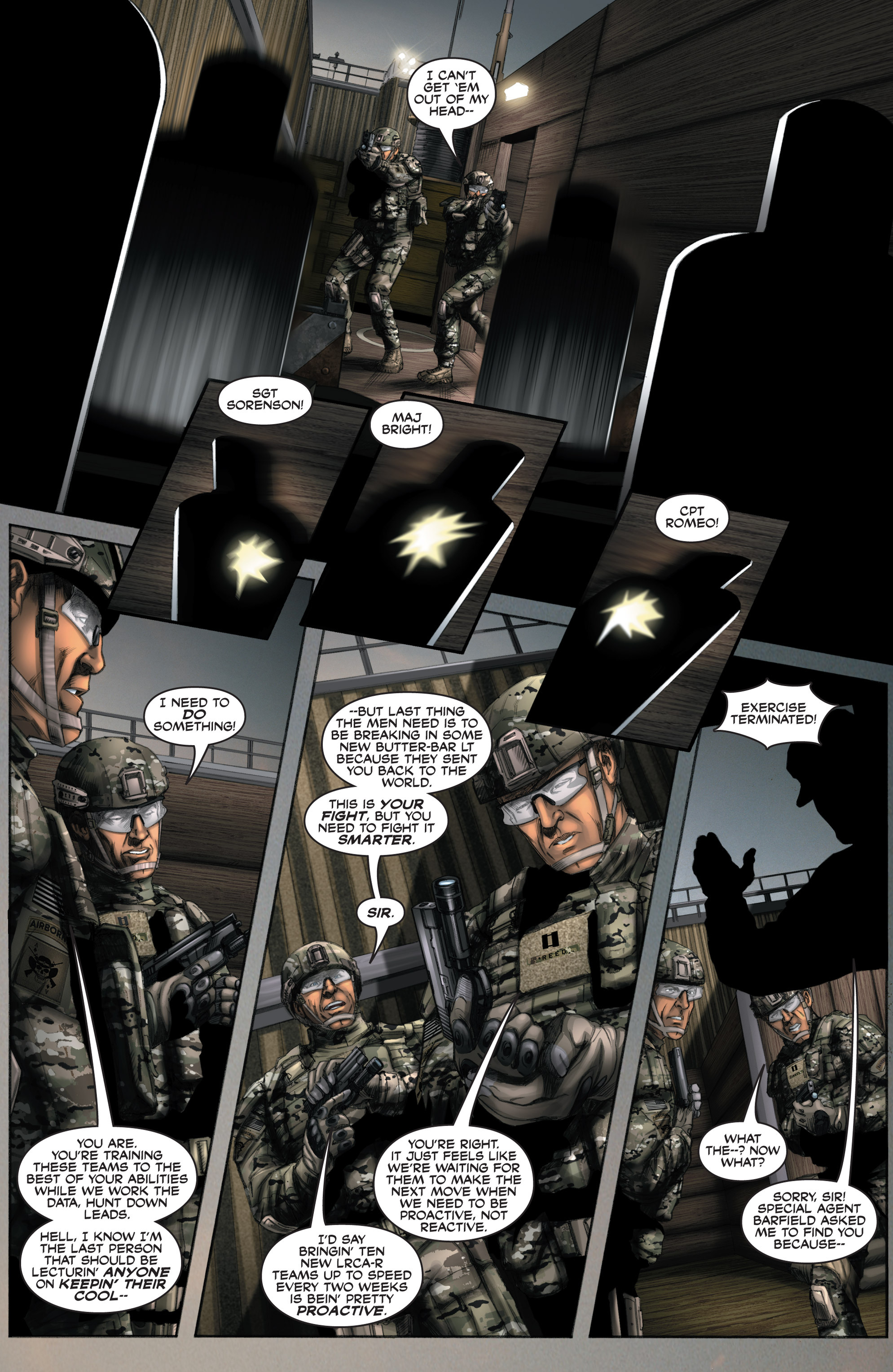 Read online America's Army comic -  Issue #8 - 9