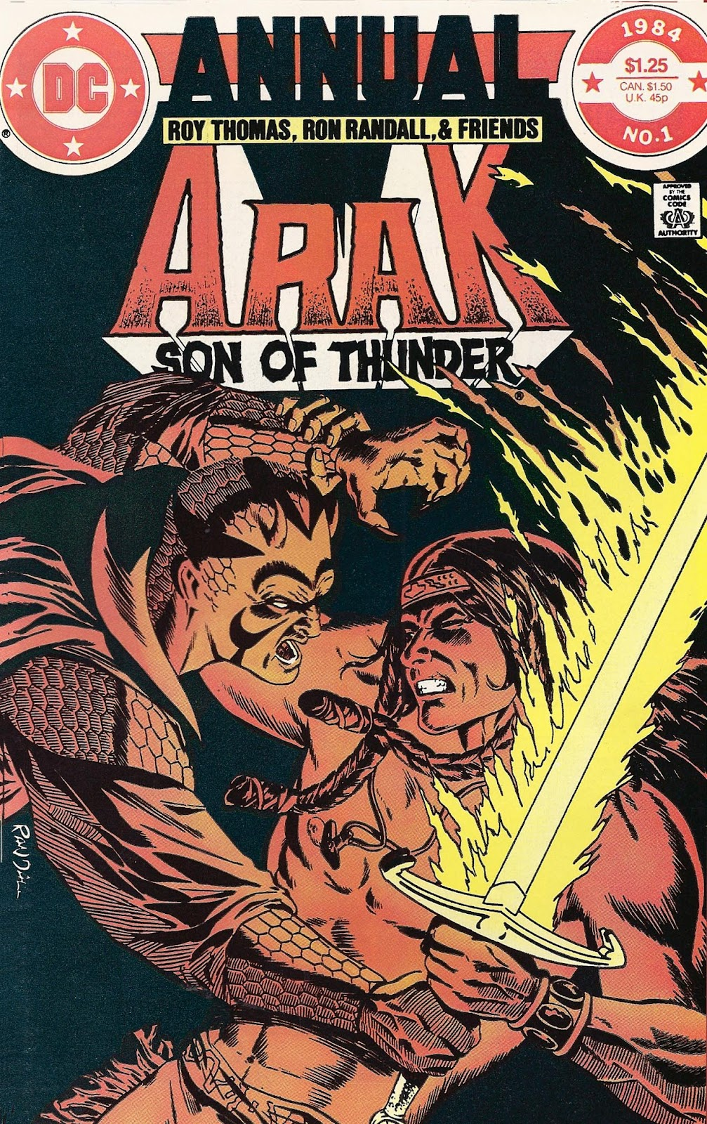 Arak Son of Thunder _Annual_1 Page 1