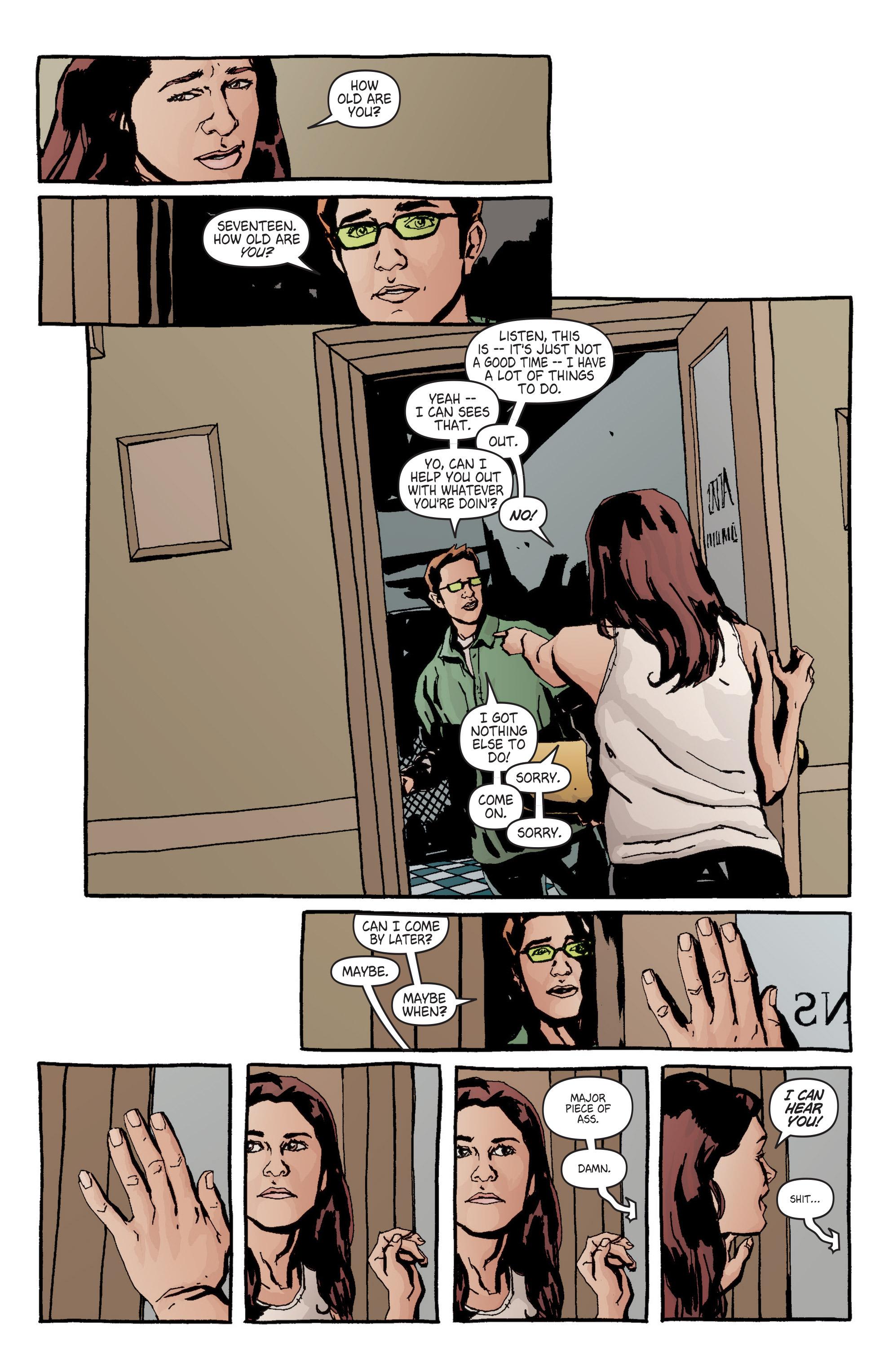 Read online Alias comic -  Issue #6 - 19