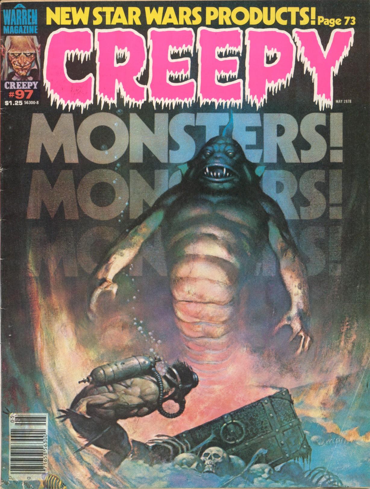 Creepy (1964) 97 Page 1