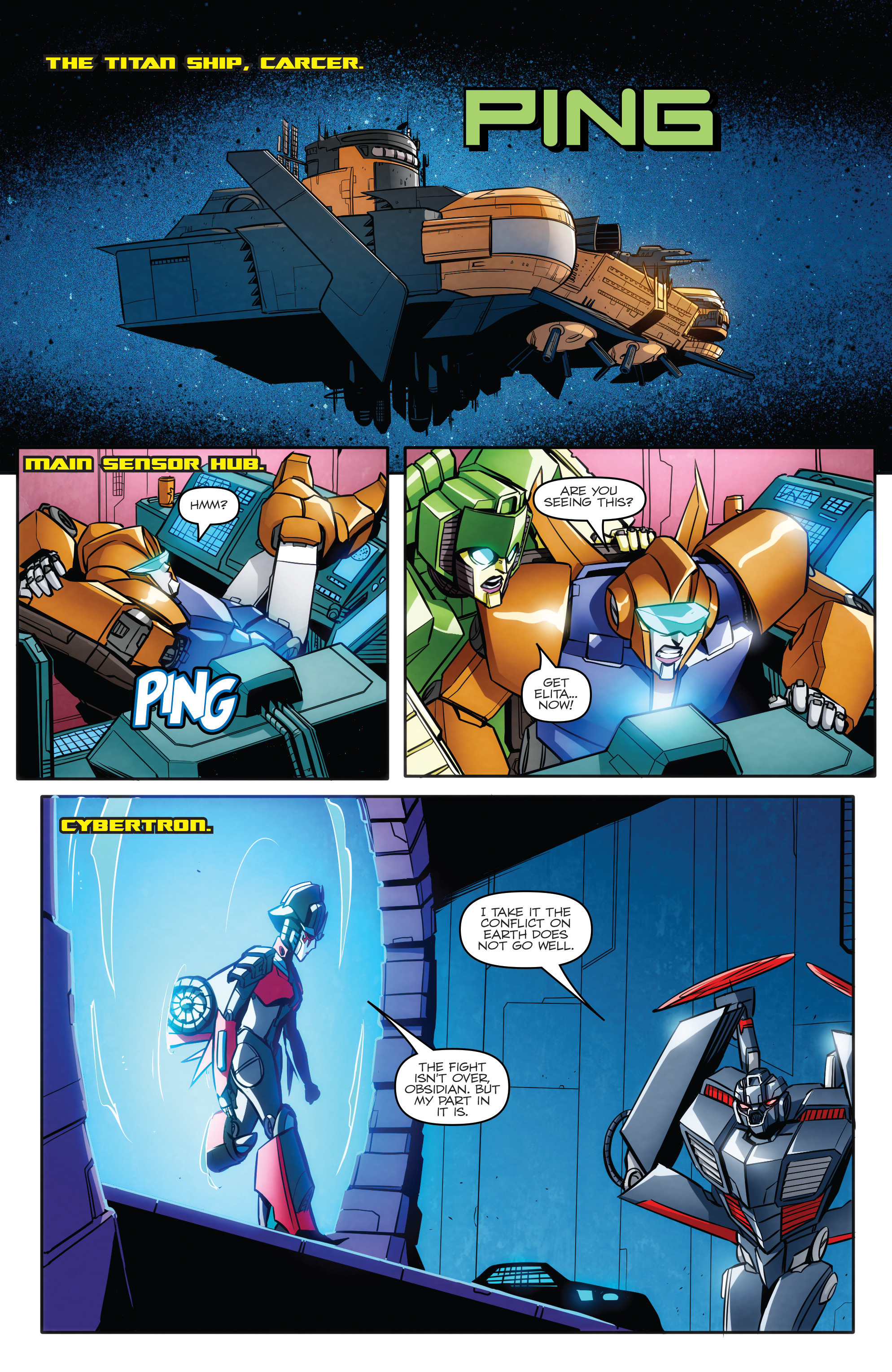 Read online Transformers: Till All Are One comic -  Issue #5 - 5