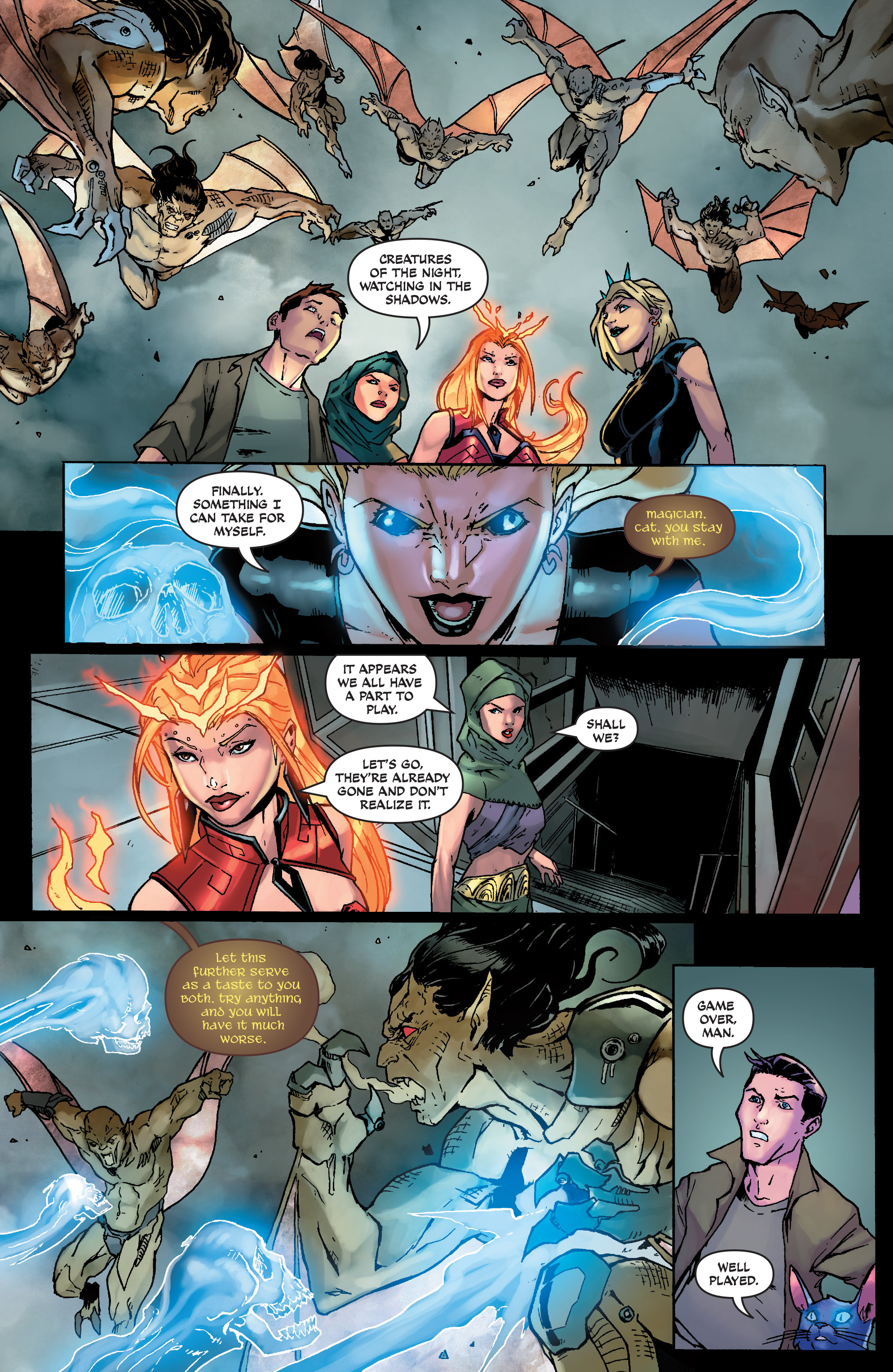Read online Aspen Universe: Decimation comic -  Issue # Full - 17