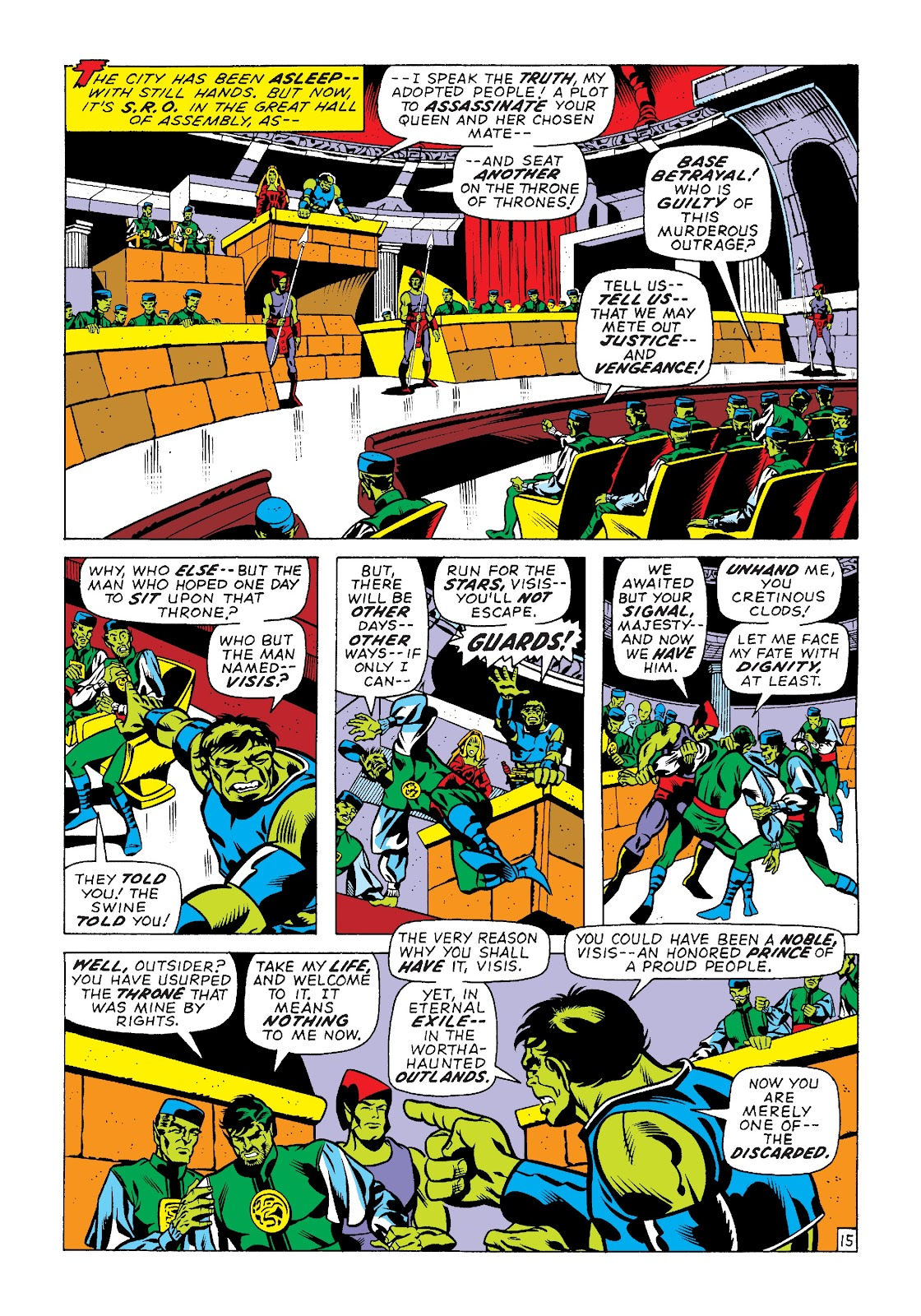 Read online Marvel Masterworks: The Incredible Hulk comic -  Issue # TPB 7 (Part 2) - 41