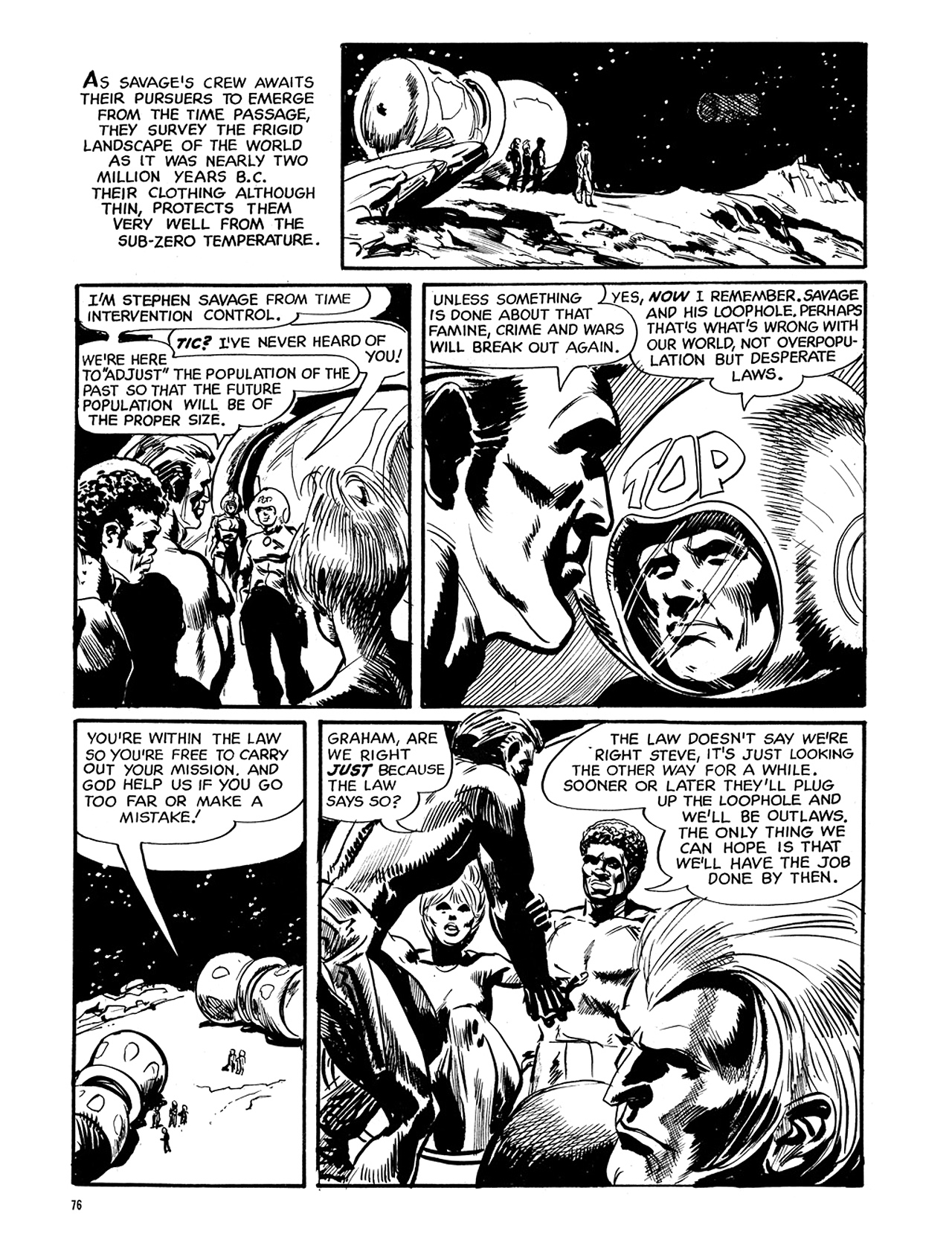 Read online Eerie Archives comic -  Issue # TPB 6 - 77
