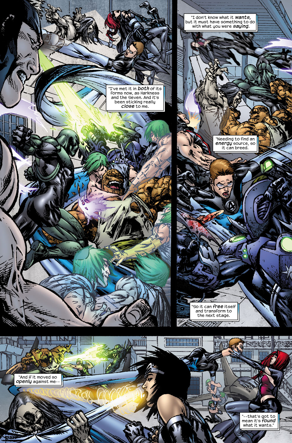 Read online Ultimate Fantastic Four (2004) comic -  Issue #56 - 22