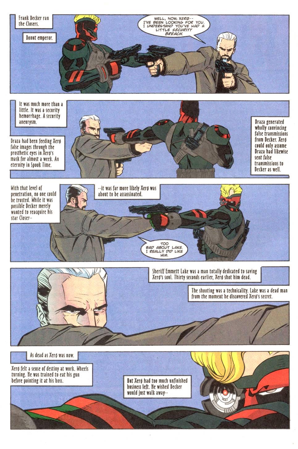 Read online Xero comic -  Issue #11 - 7