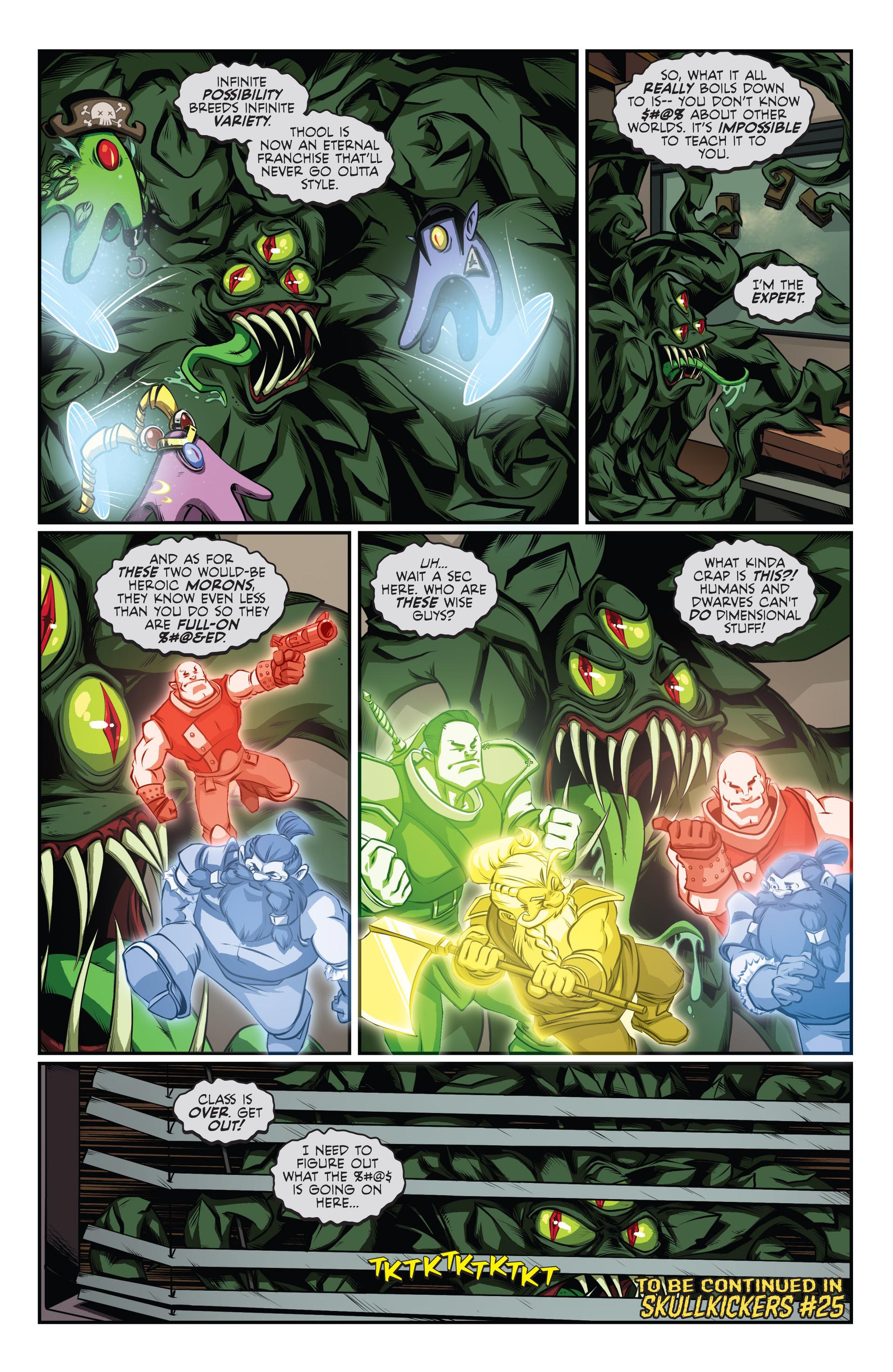 Read online Skullkickers comic -  Issue #24 - 26
