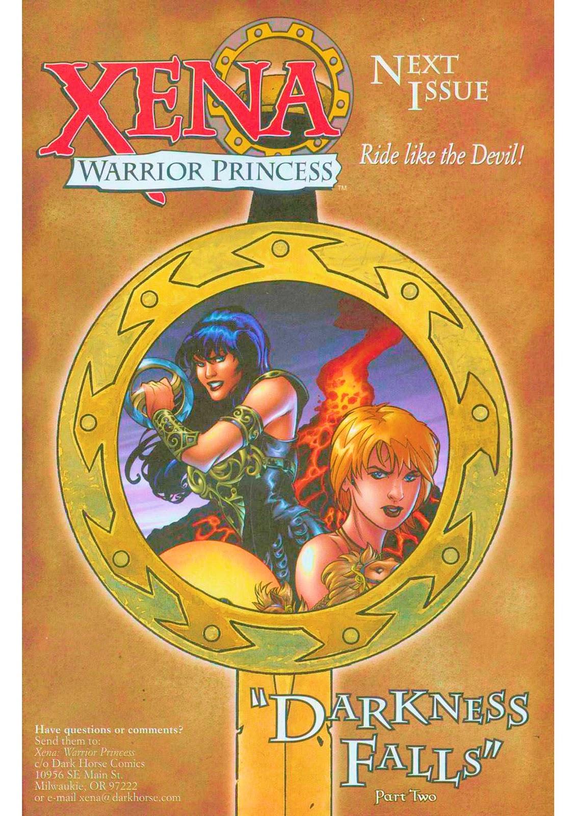 Xena: Warrior Princess (1999) Issue #11 #11 - English 24