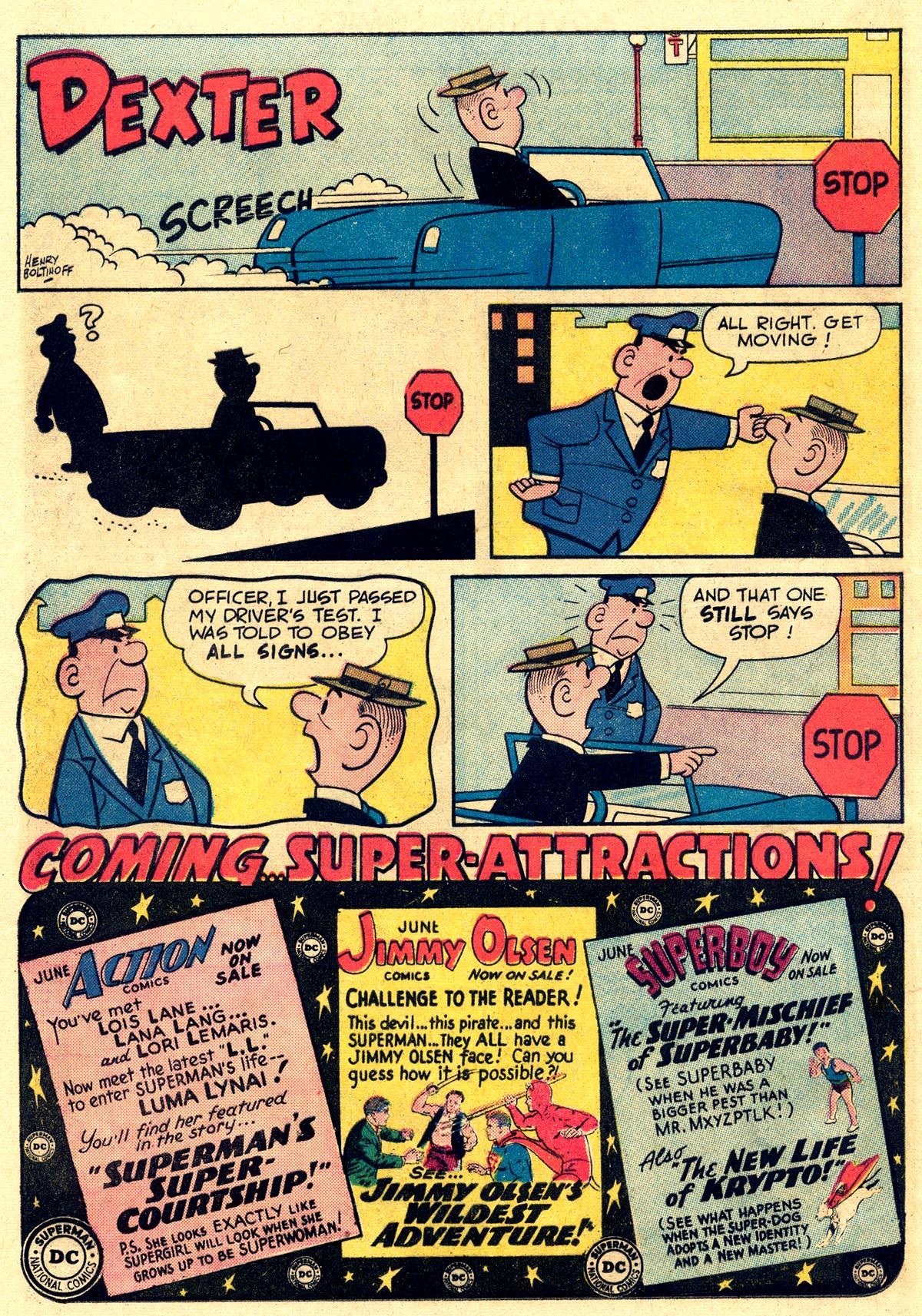 Read online Adventure Comics (1938) comic -  Issue #297 - 32