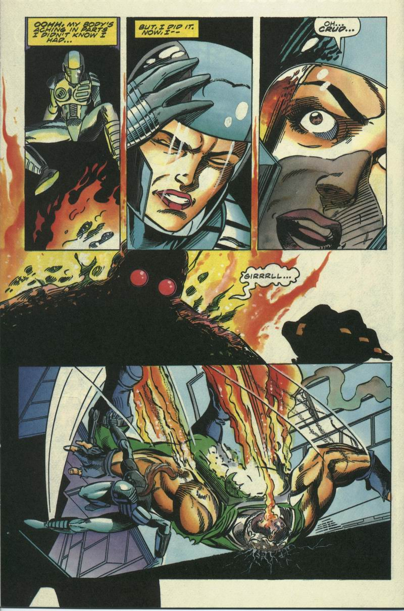 Read online Secret Weapons comic -  Issue #17 - 16