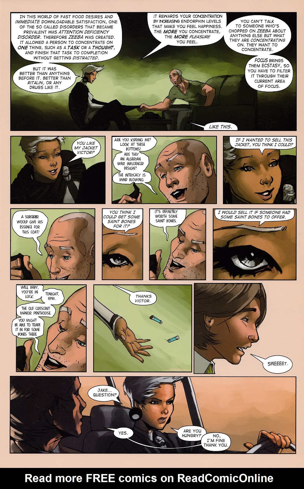 Read online Vescell comic -  Issue #3 - 19