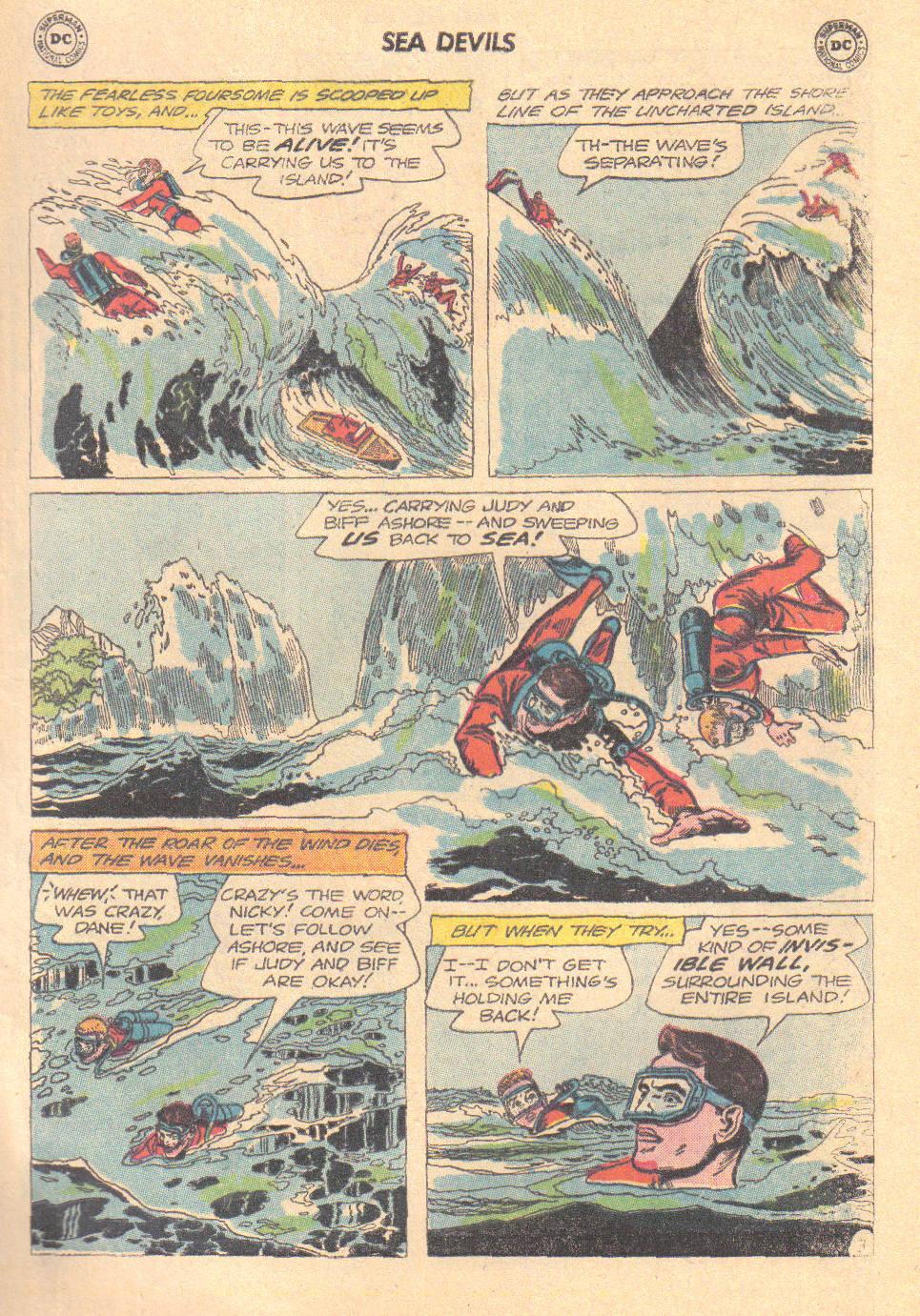 Read online Sea Devils comic -  Issue #16 - 5