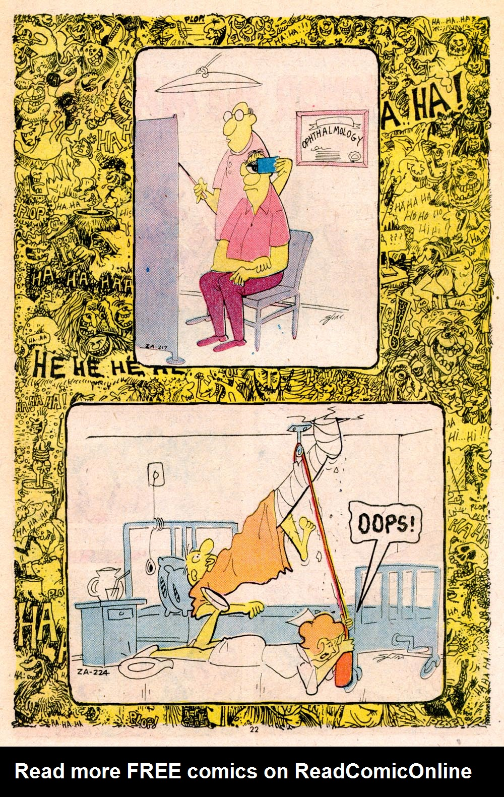 Read online Plop! comic -  Issue #5 - 23