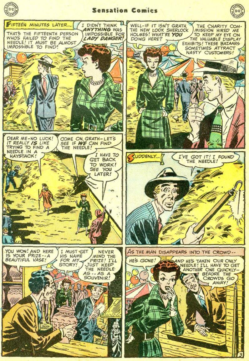 Read online Sensation (Mystery) Comics comic -  Issue #87 - 42
