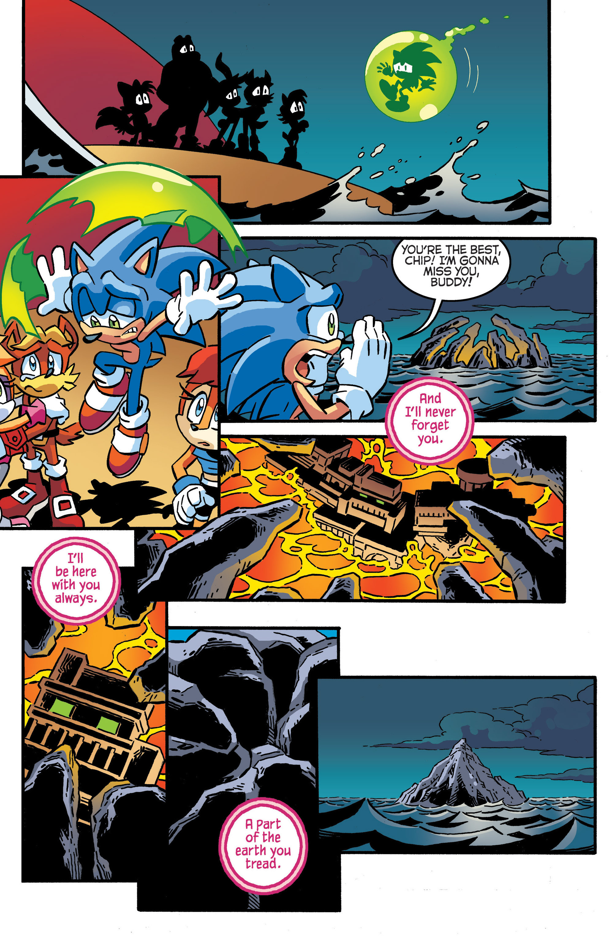 Read online Sonic The Hedgehog comic -  Issue #287 - 18