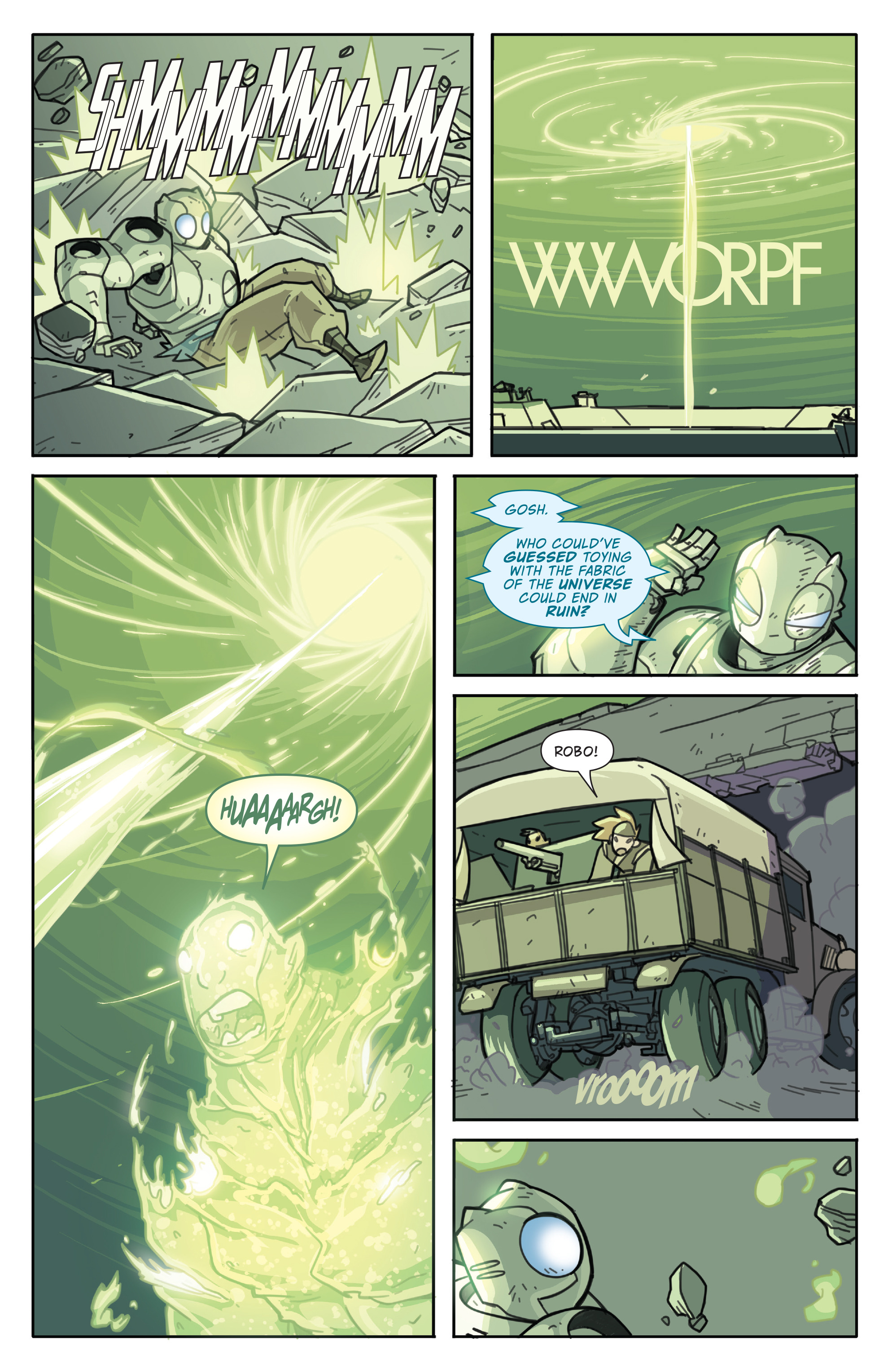 Read online Atomic Robo and the Temple of Od comic -  Issue #5 - 19