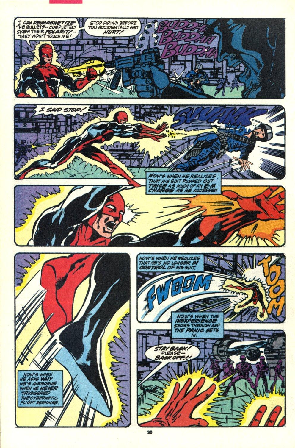 Read online Alpha Flight (1983) comic -  Issue #92 - 16