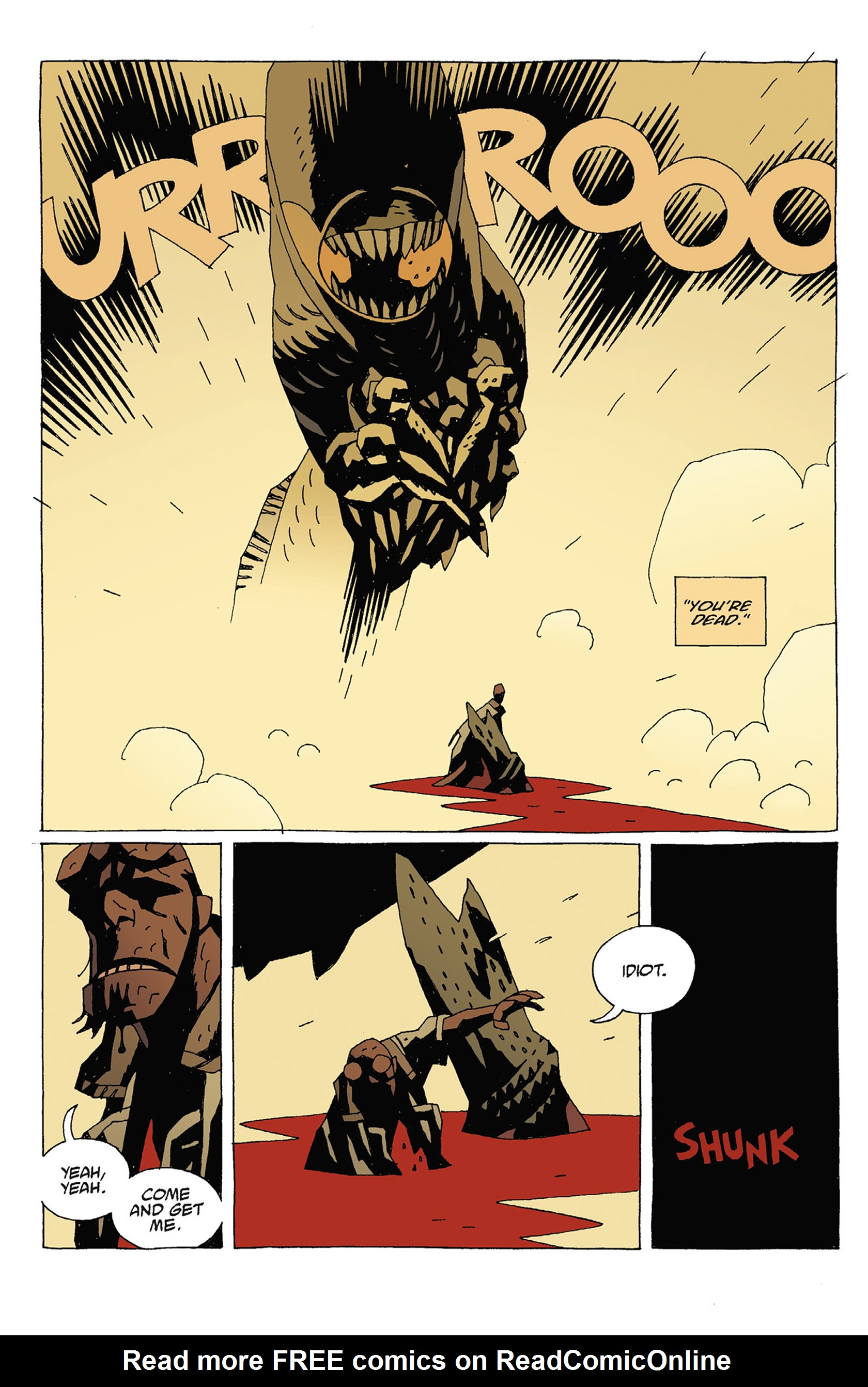 Read online Hellboy: Strange Places comic -  Issue # TPB - 120
