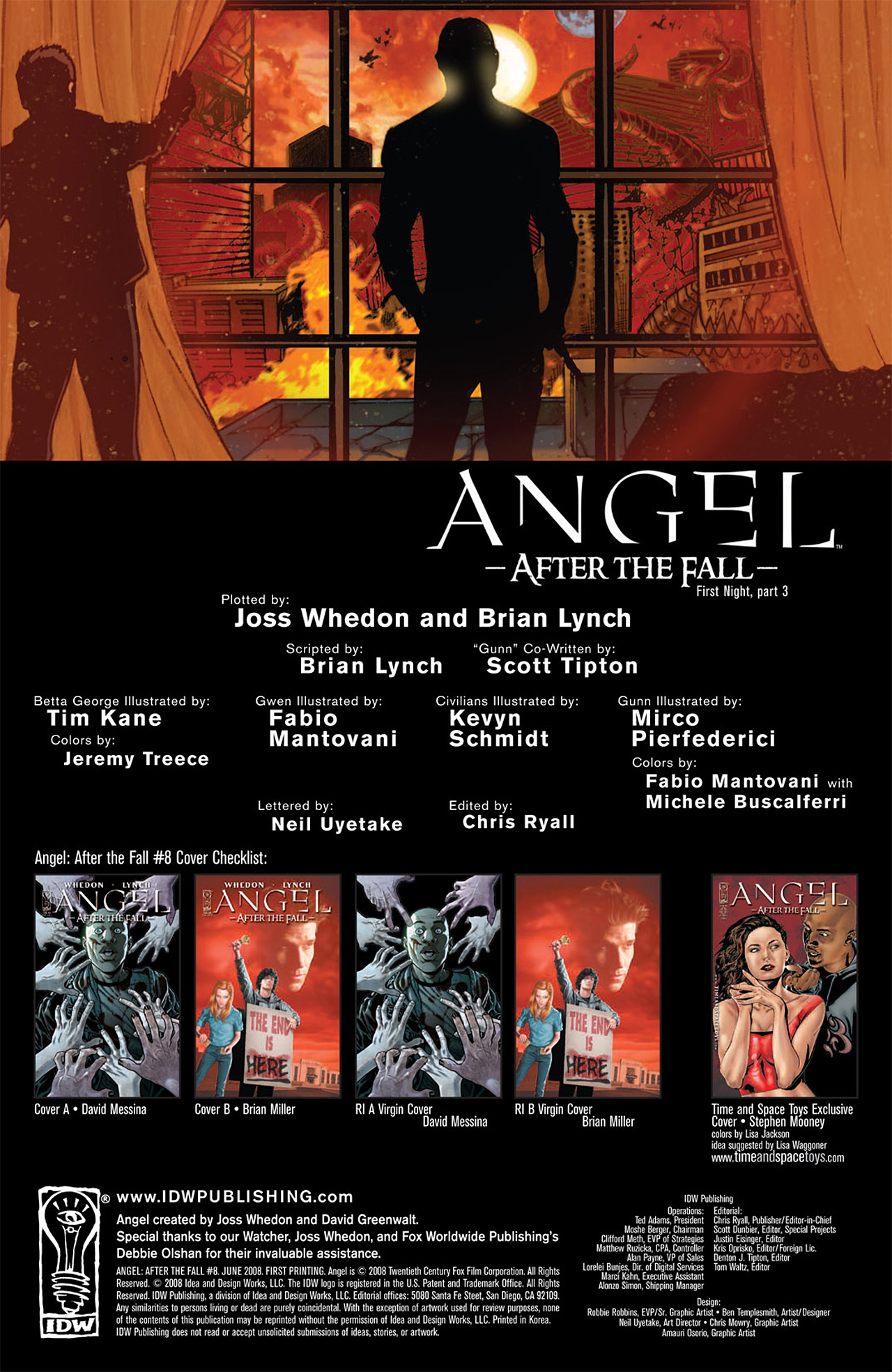 Read online Angel: After The Fall comic -  Issue #8 - 3