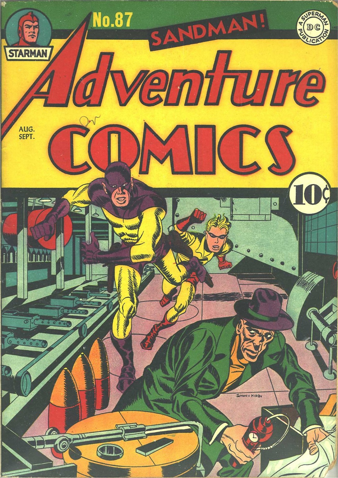 Read online Adventure Comics (1938) comic -  Issue #87 - 1