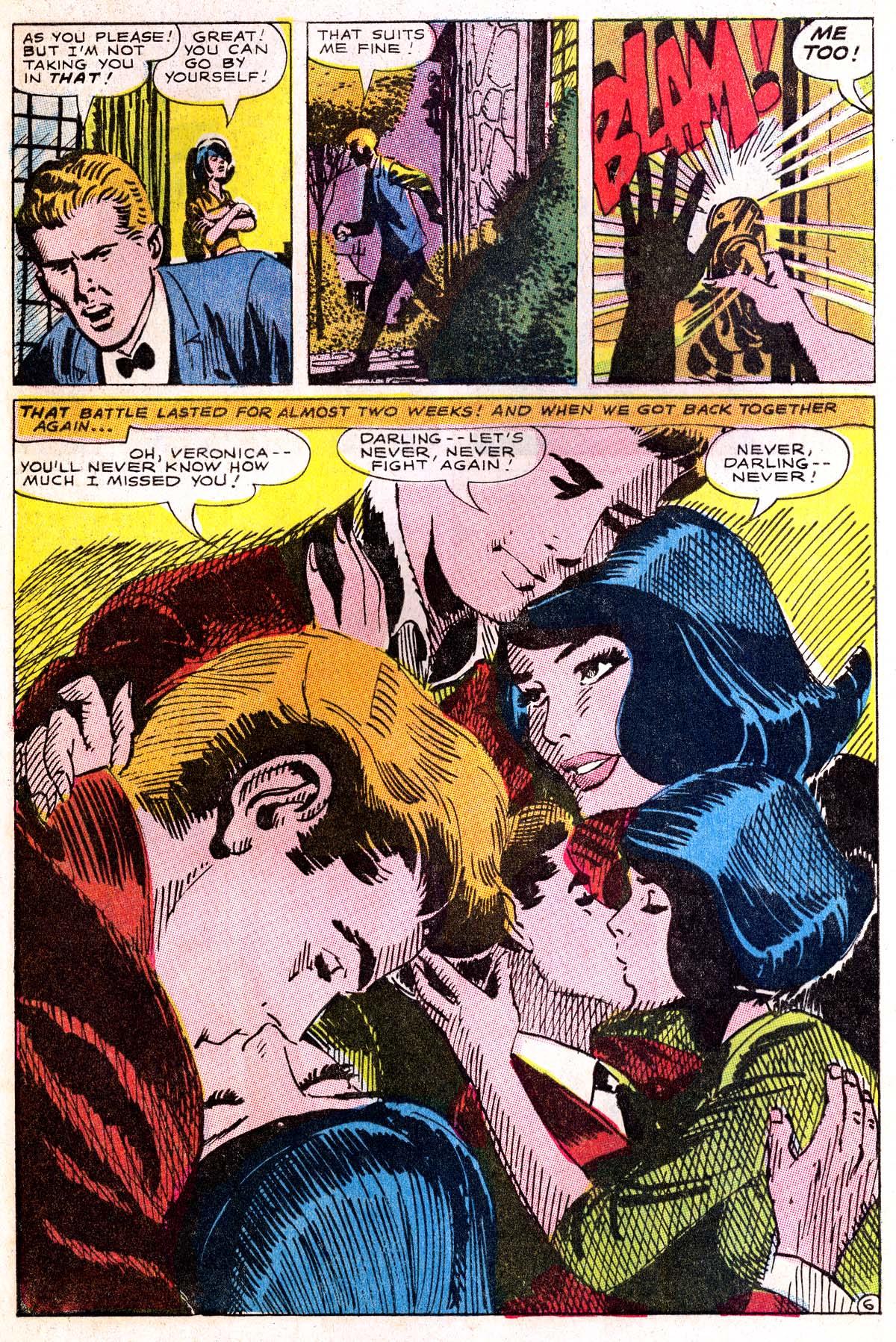 Read online Secret Hearts comic -  Issue #114 - 8